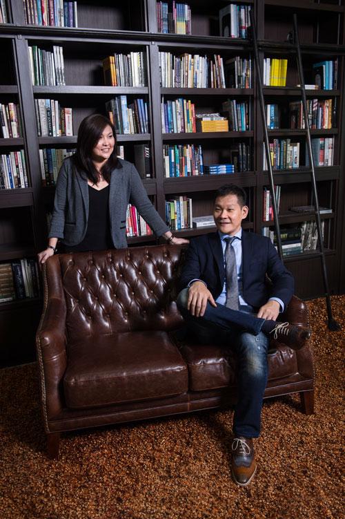 Pastor Tan Seow How (Pastor How) Pastor Cecilia Chan (Pastor Lia)