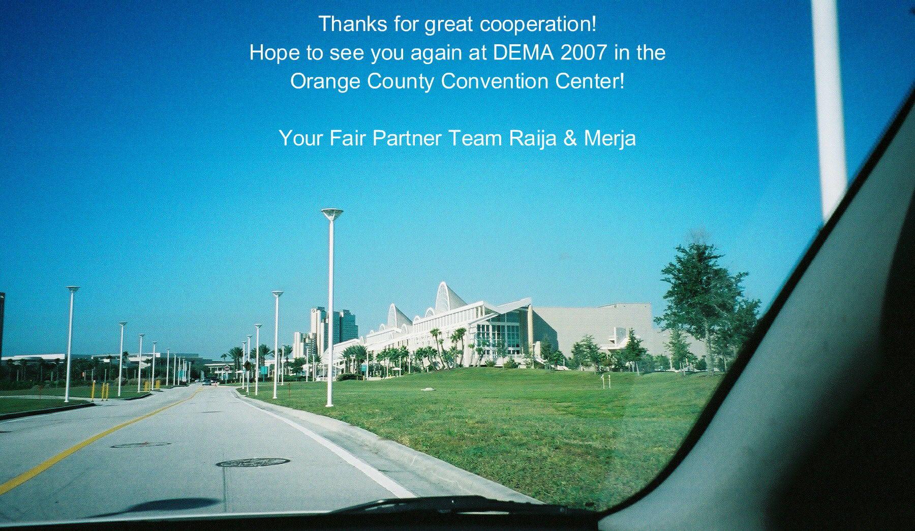 Dema Show 2006, Orange County Convention Center, Orlando