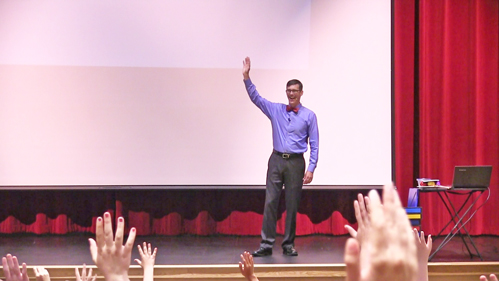 A entertaining presentation by a champion of memory helps prepare everyone for success.