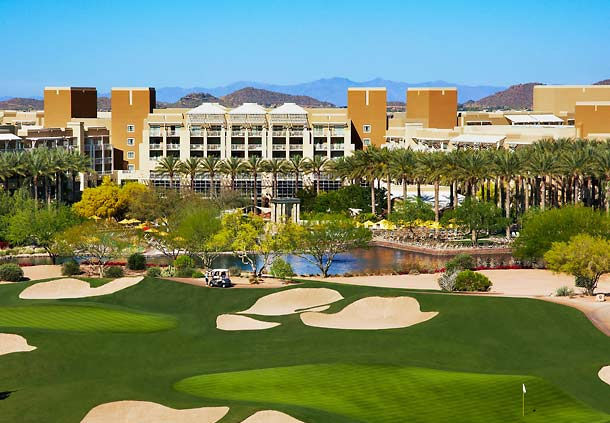 JW Marriott Phoenix Desert Ridge Resort & Spa : spacious and modern located in the Soronan Desert