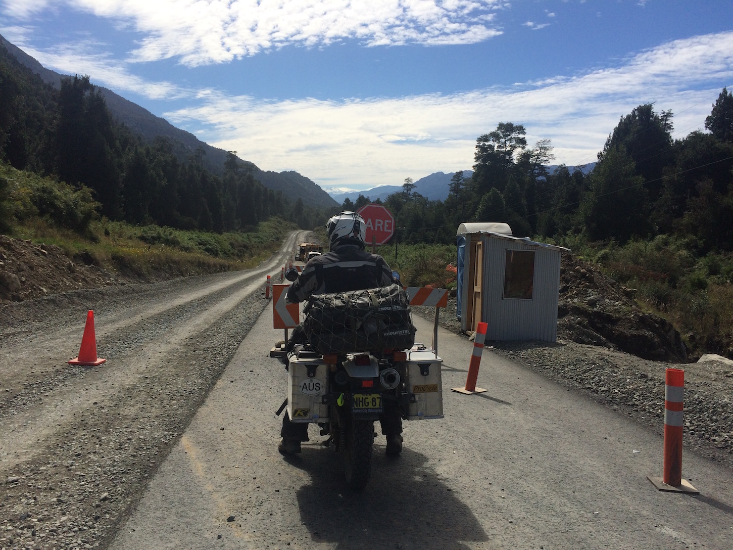 Carretera Austral - en-route to Yelcho Lake - some daily gravel roads.