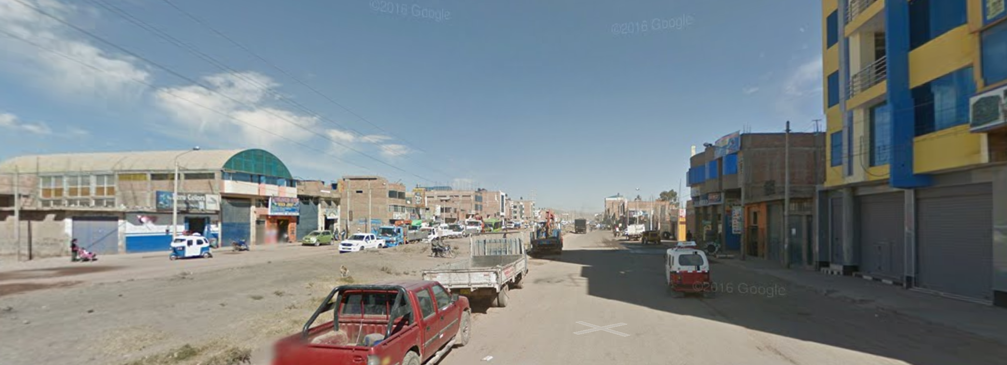 Google street view of Juliaca's 'ring road' (on a good day)
