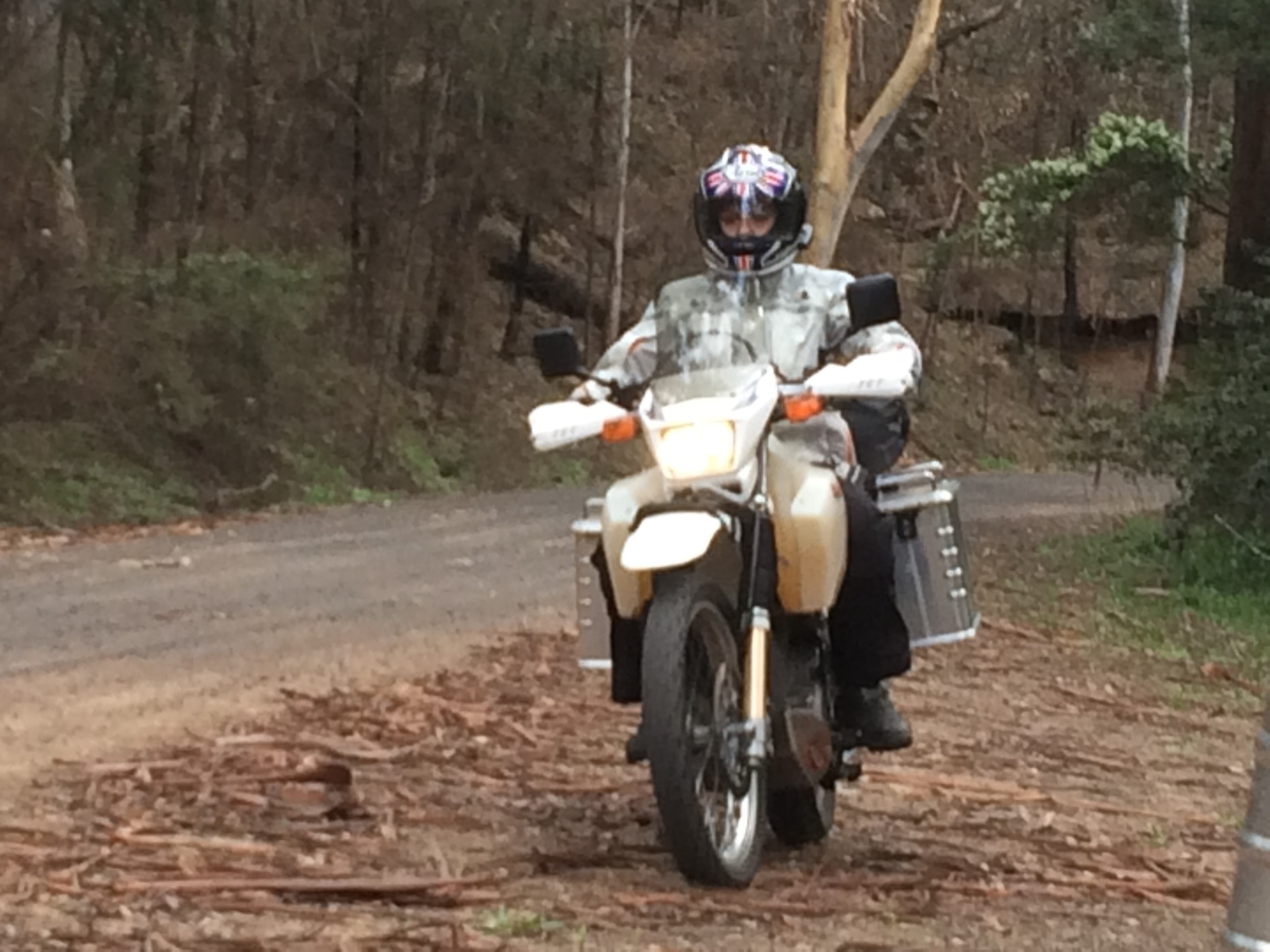 One of our first off road trips, Settlers road, St Albans
