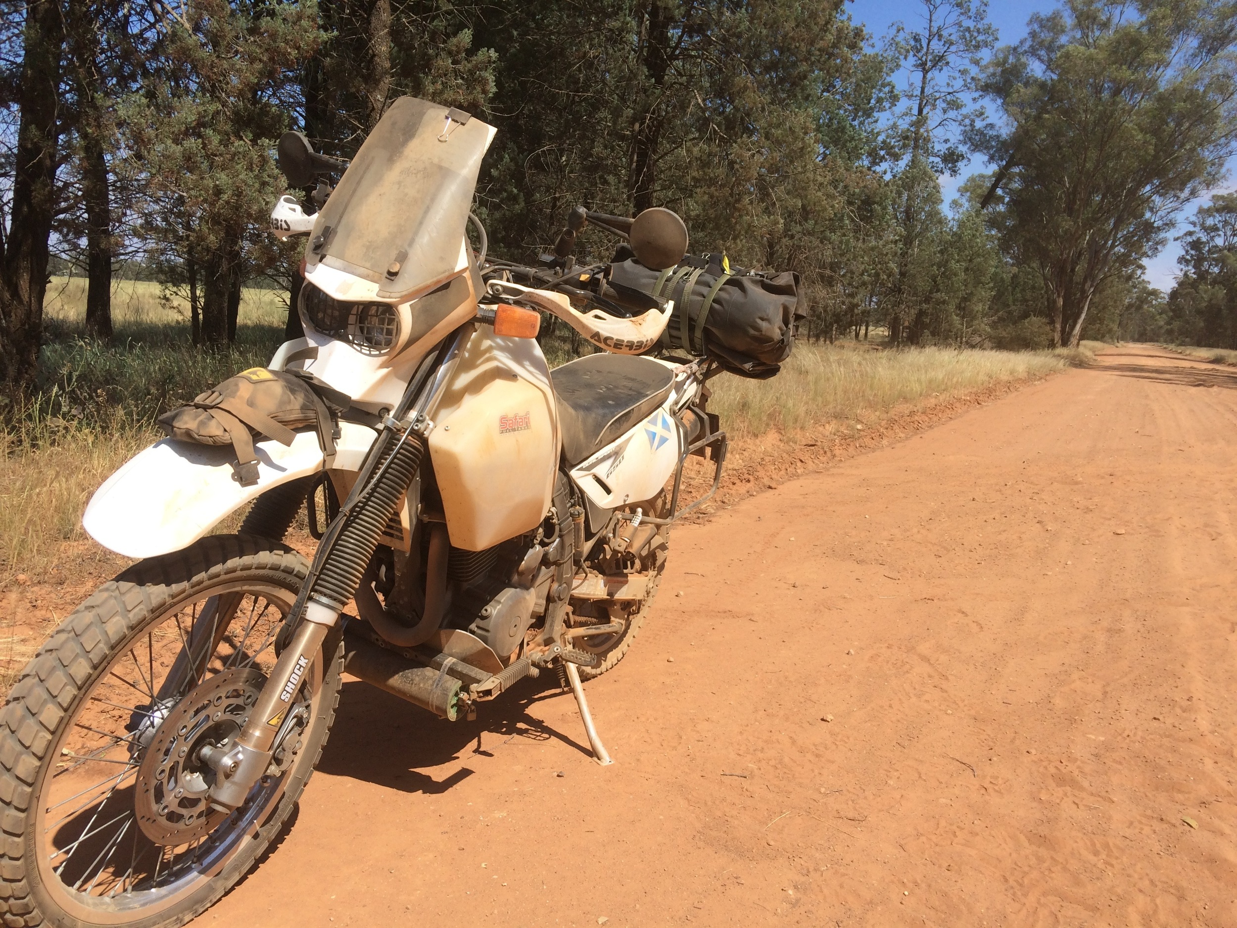 On our way back from the Horizons Unlimited meeting, South-Central NSW