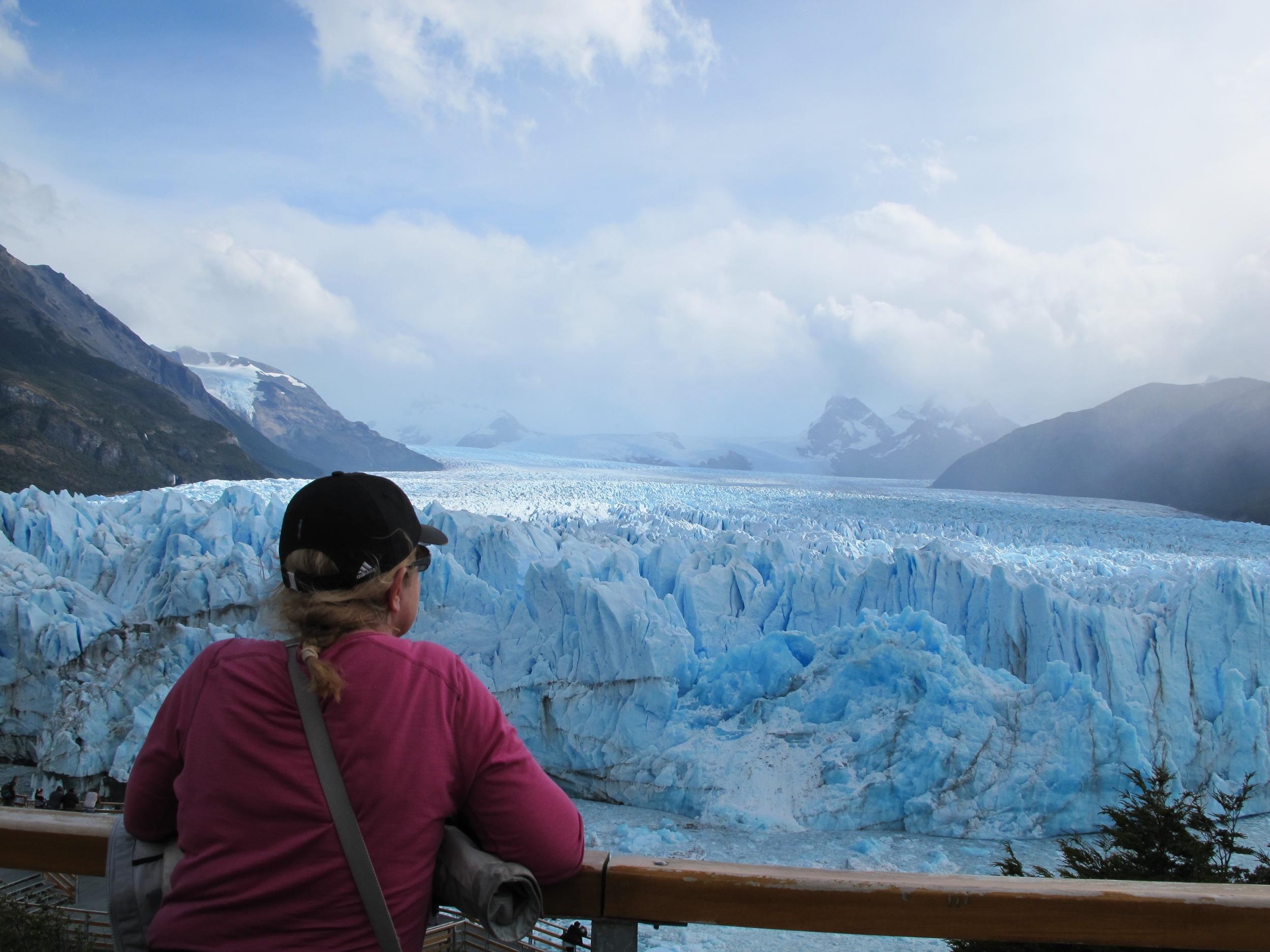 The Glacier face, Perito Moreno