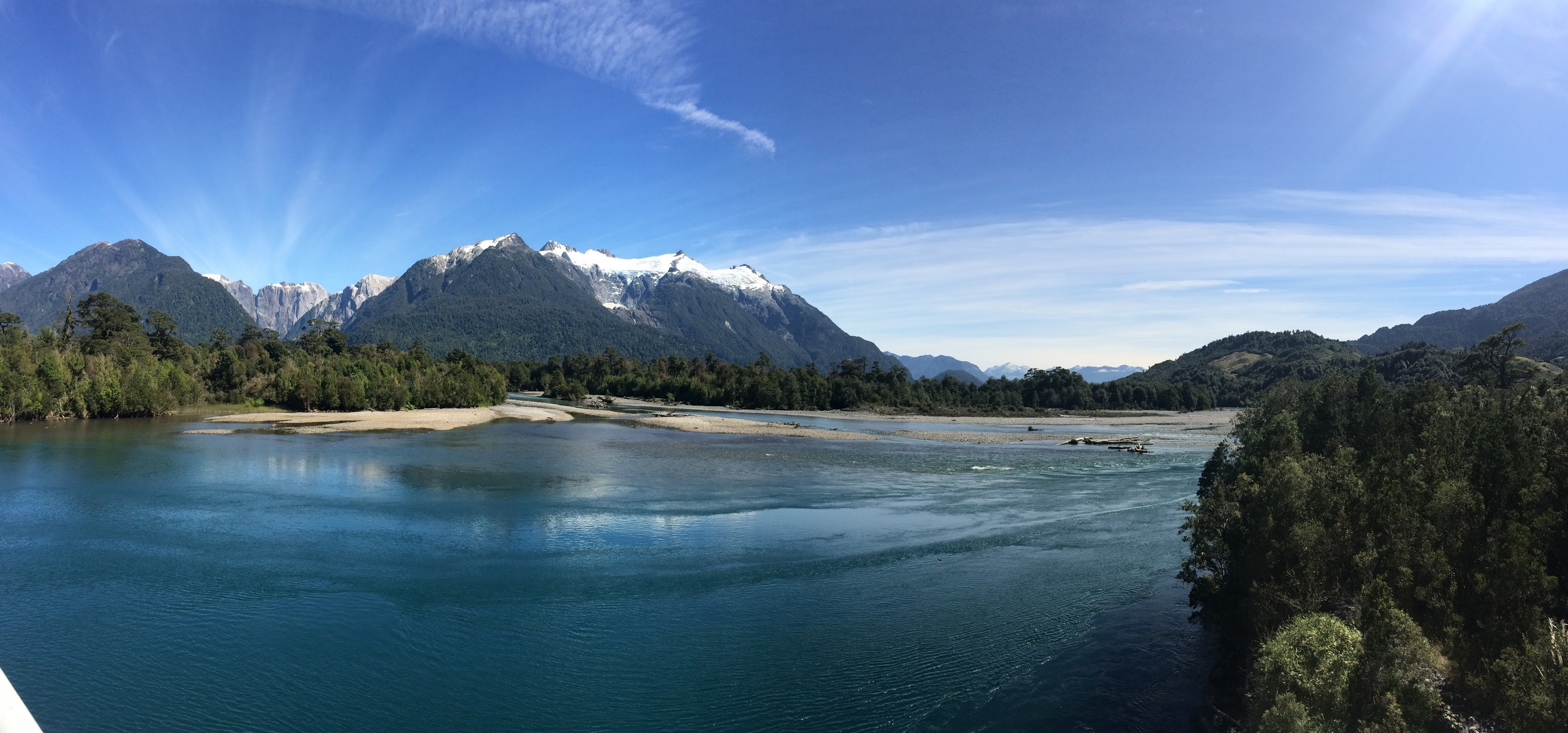 Near the end of our trip up the Carretera Austral