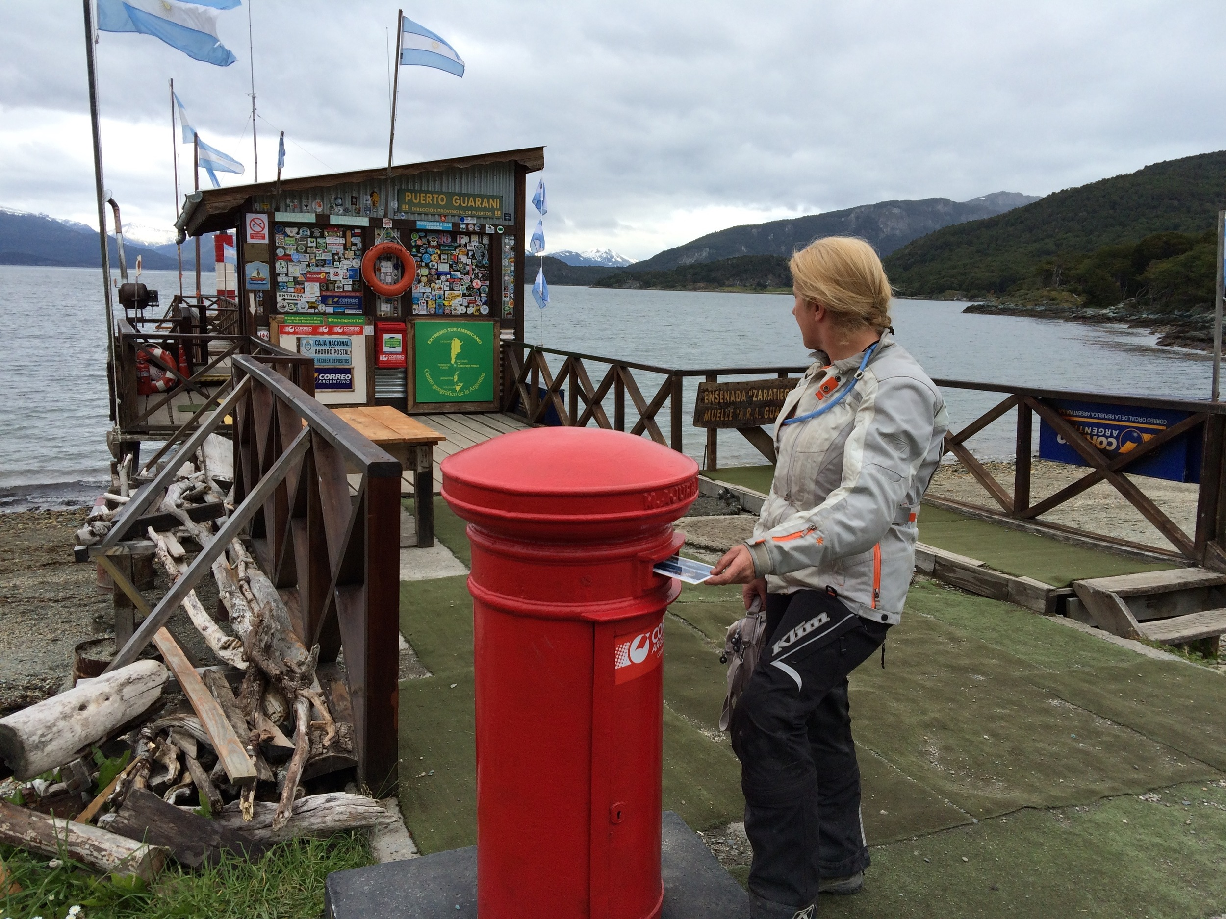 Post office at the end of the world, Ushuaia.