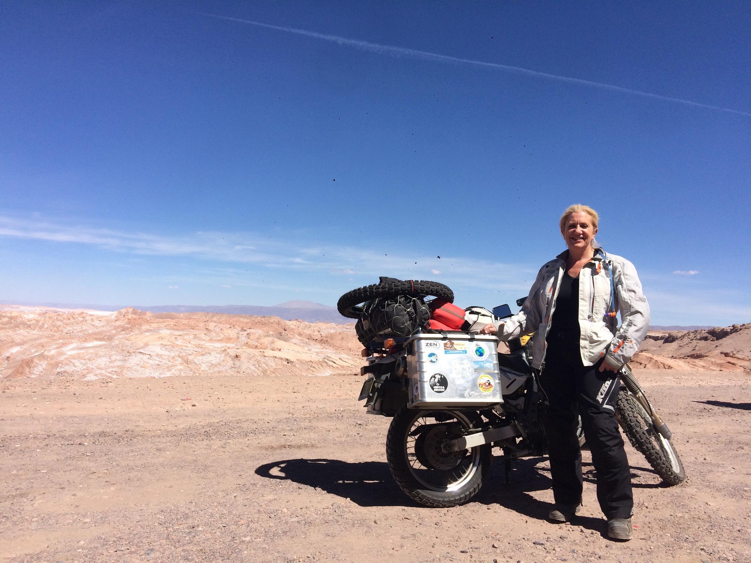 The Atacama, Chile. Near San Pedro de Atacama