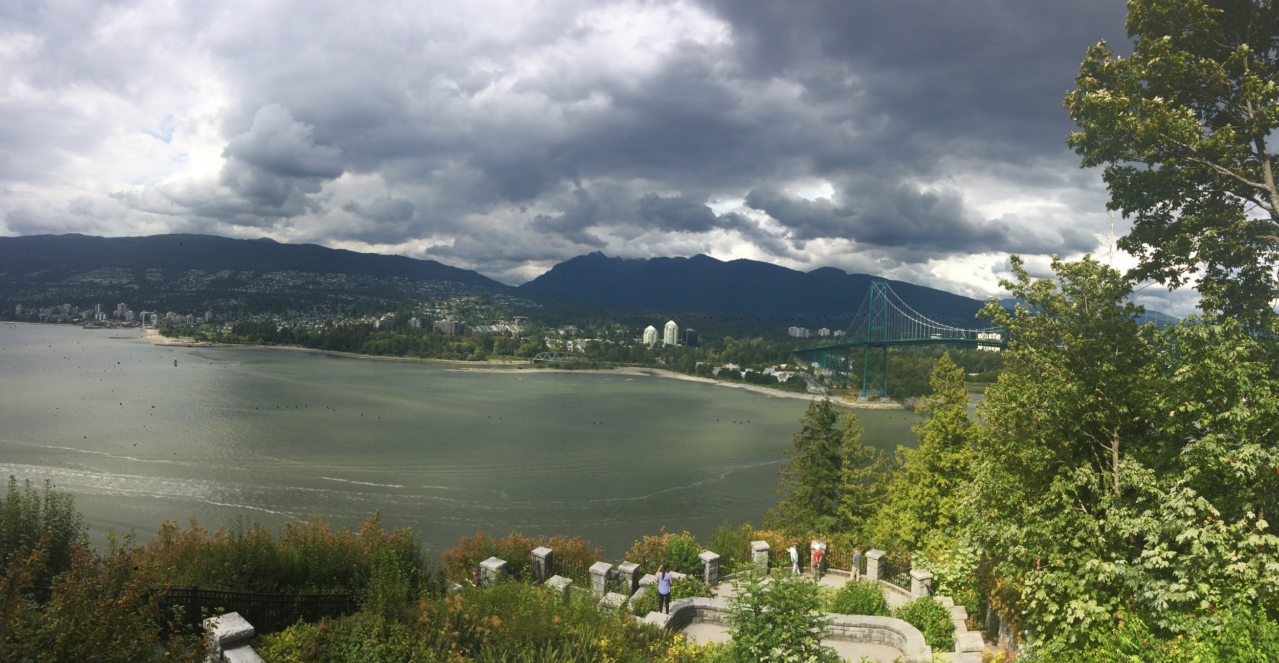 Outlook from Stanley Park