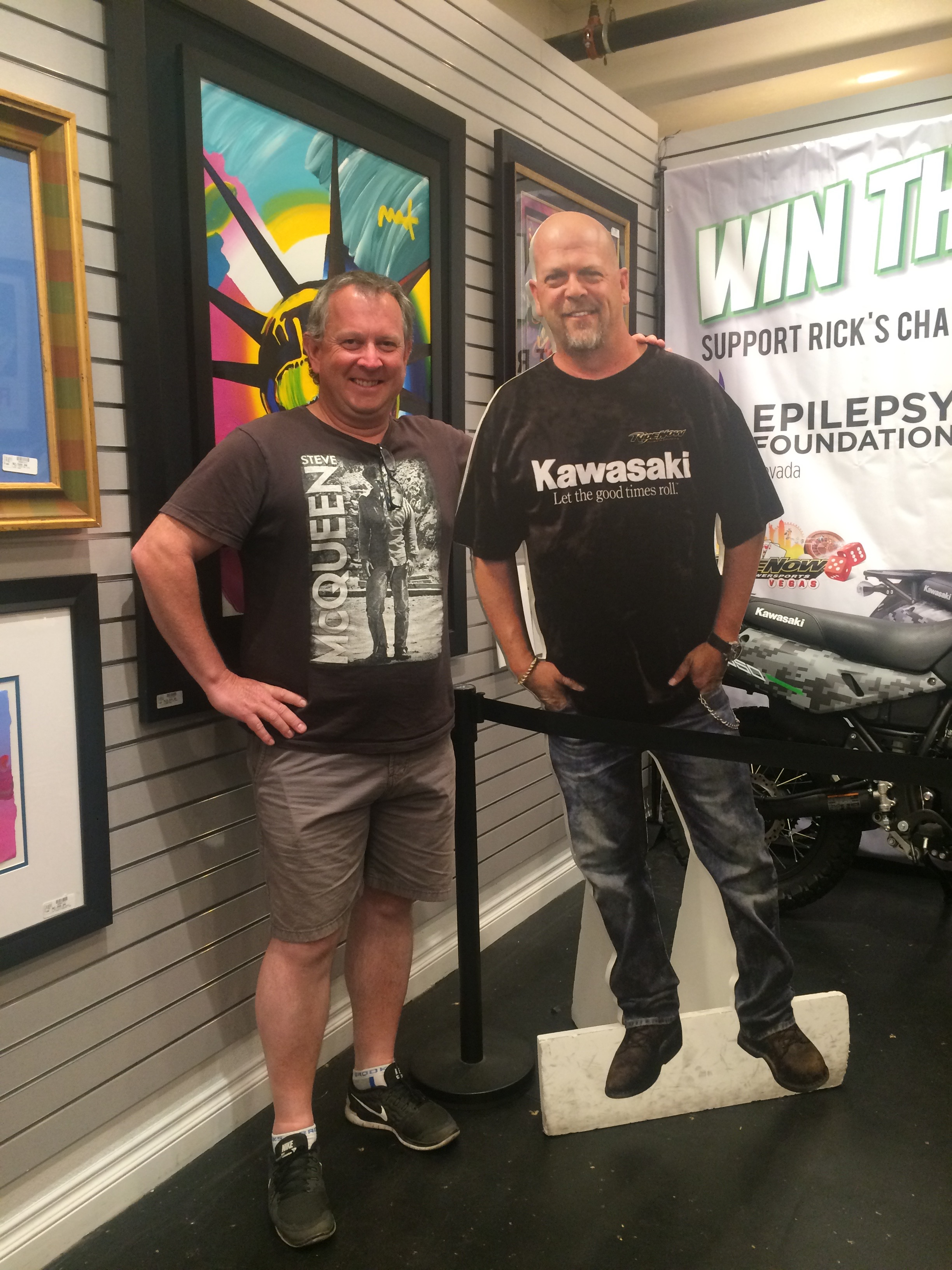 Jeff with a Pawn Star!