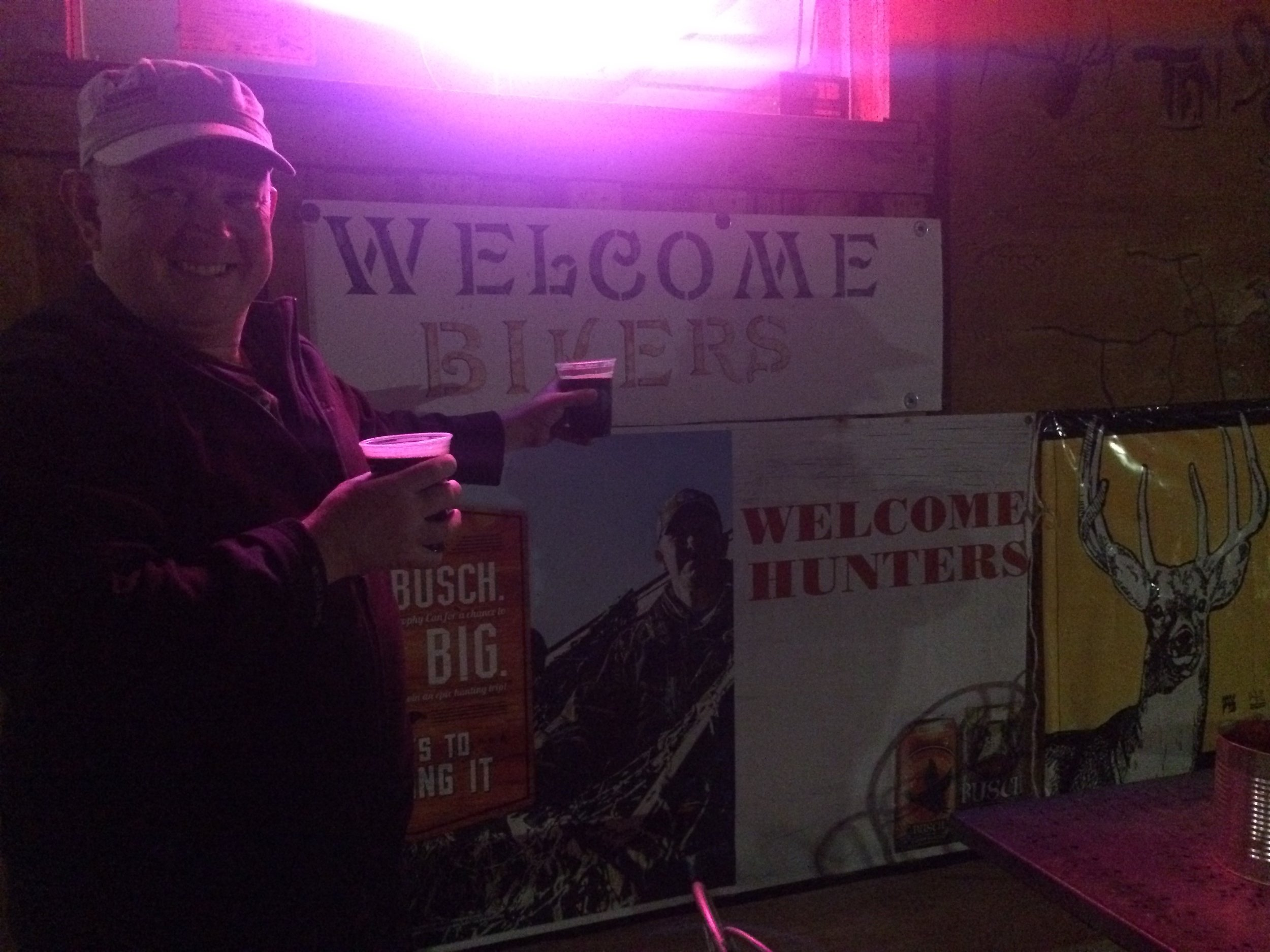Bikers Welcome (and hunters)