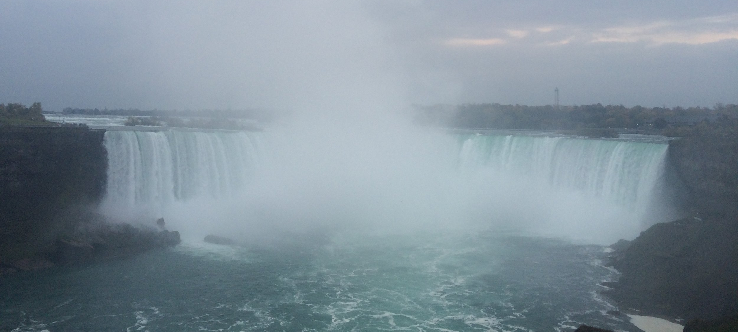Niagra Falls - the Canadian Side - Horseshoe Falls
