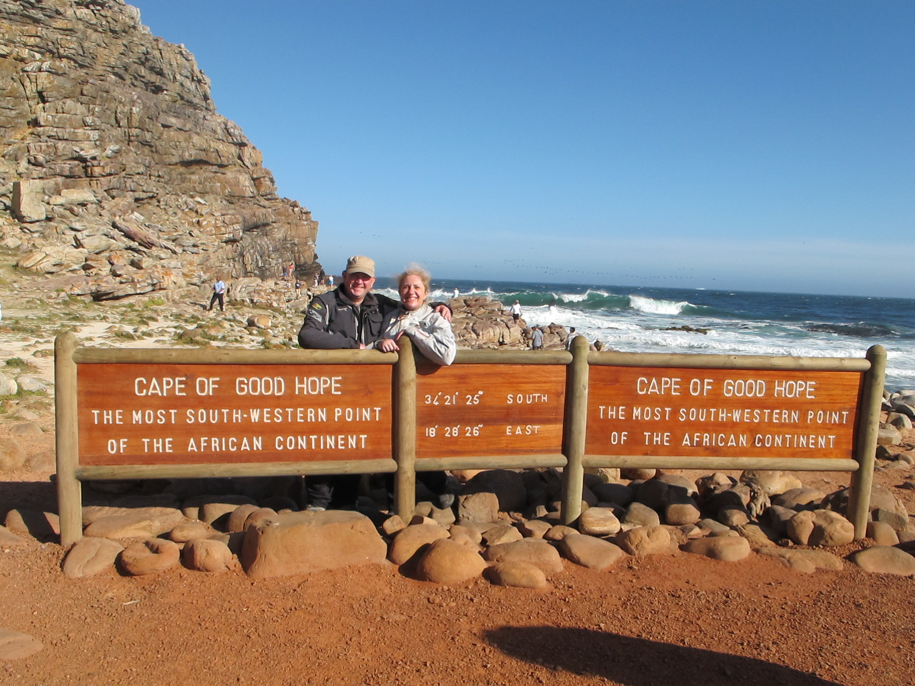 It's not, however the most southerly point, that's Cape Agulhas.