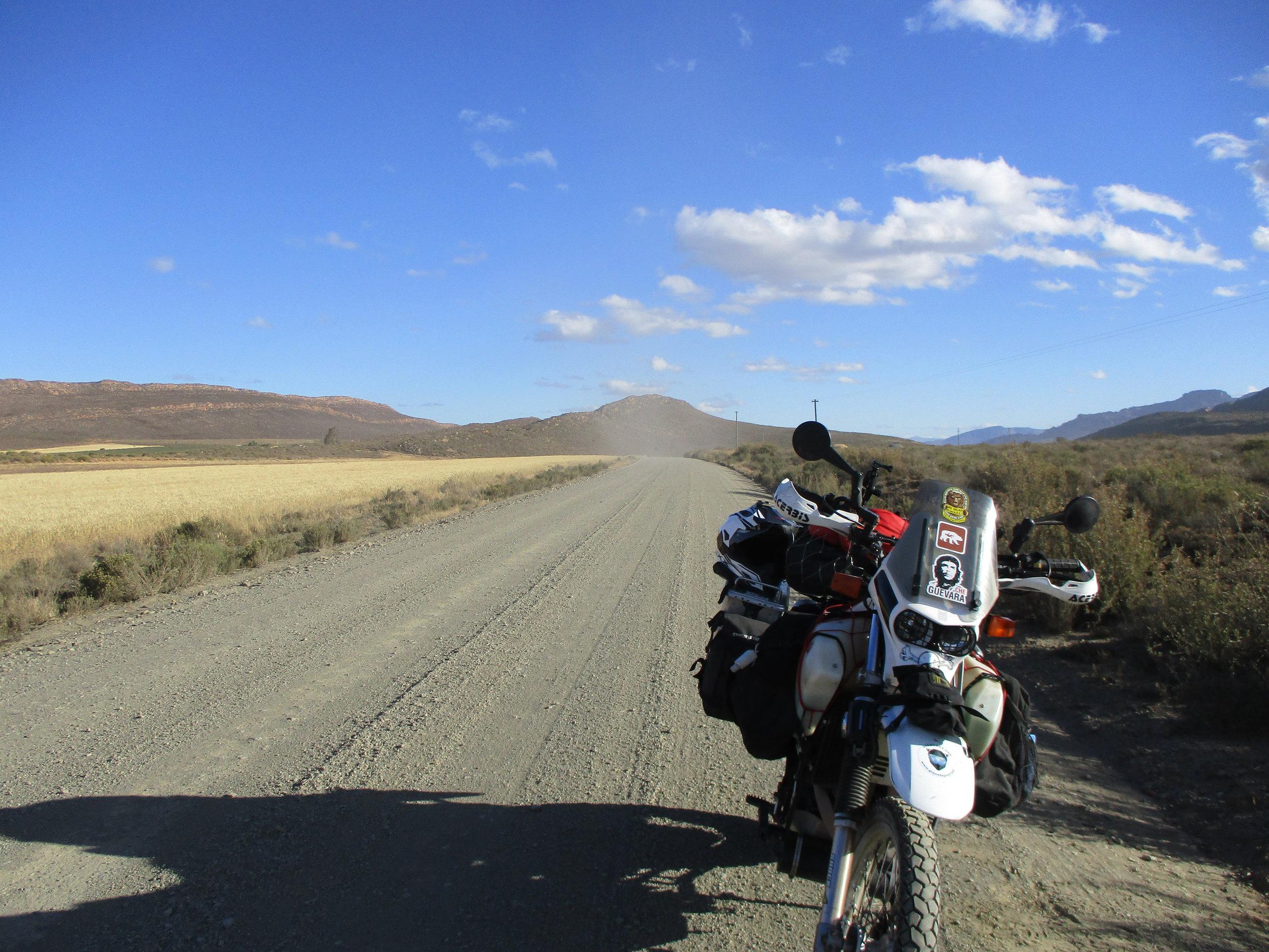 Good firm gravel road