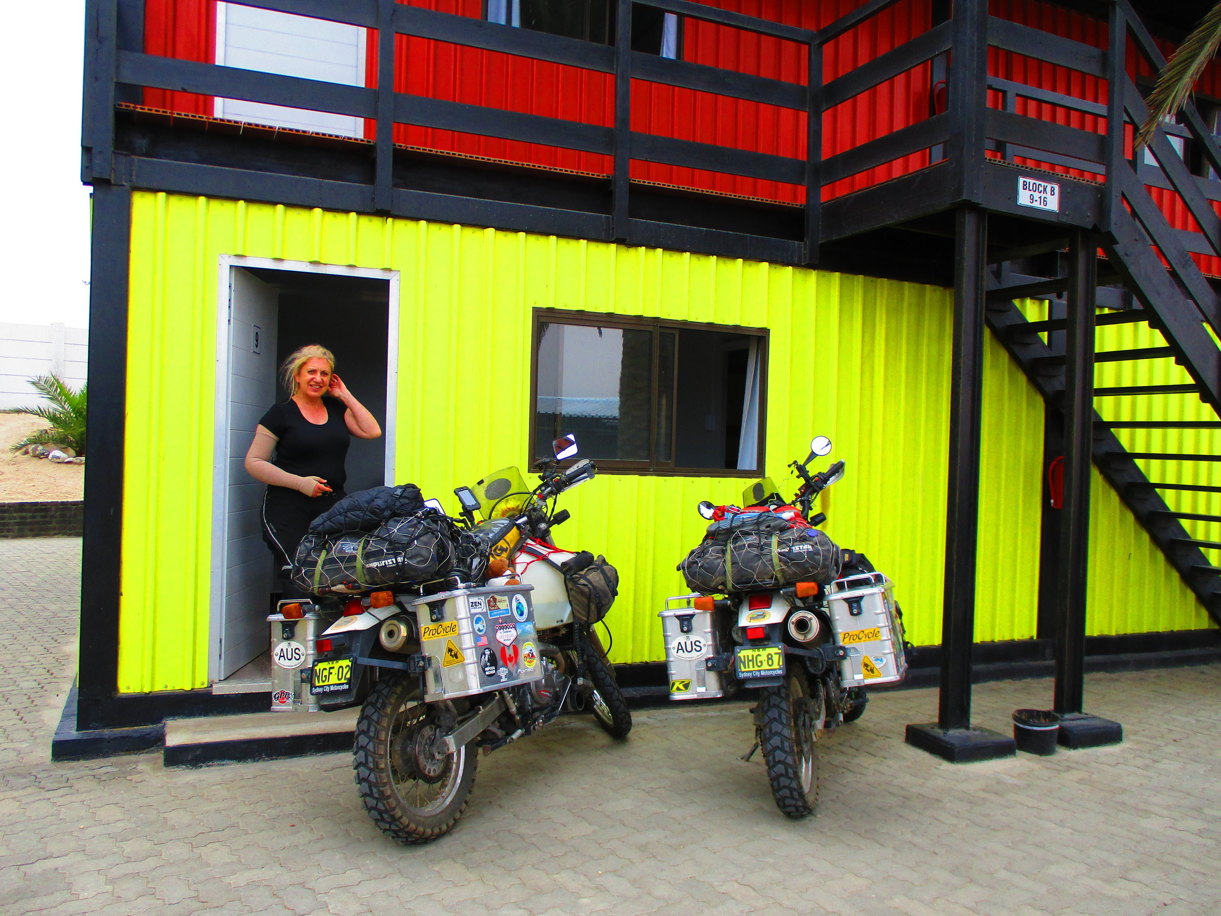 Our shipping container hotel
