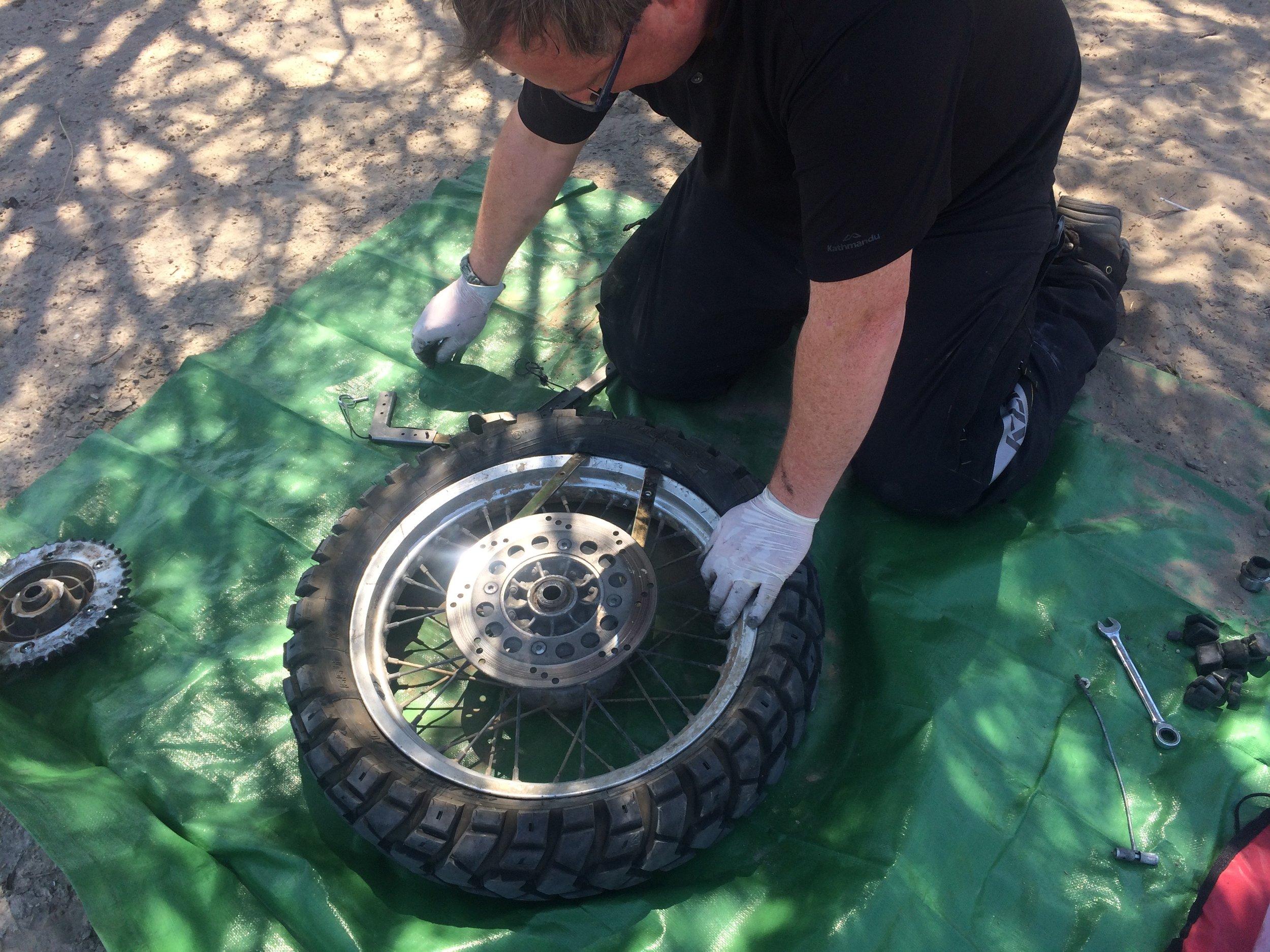 Those Heidenau tyres are tough