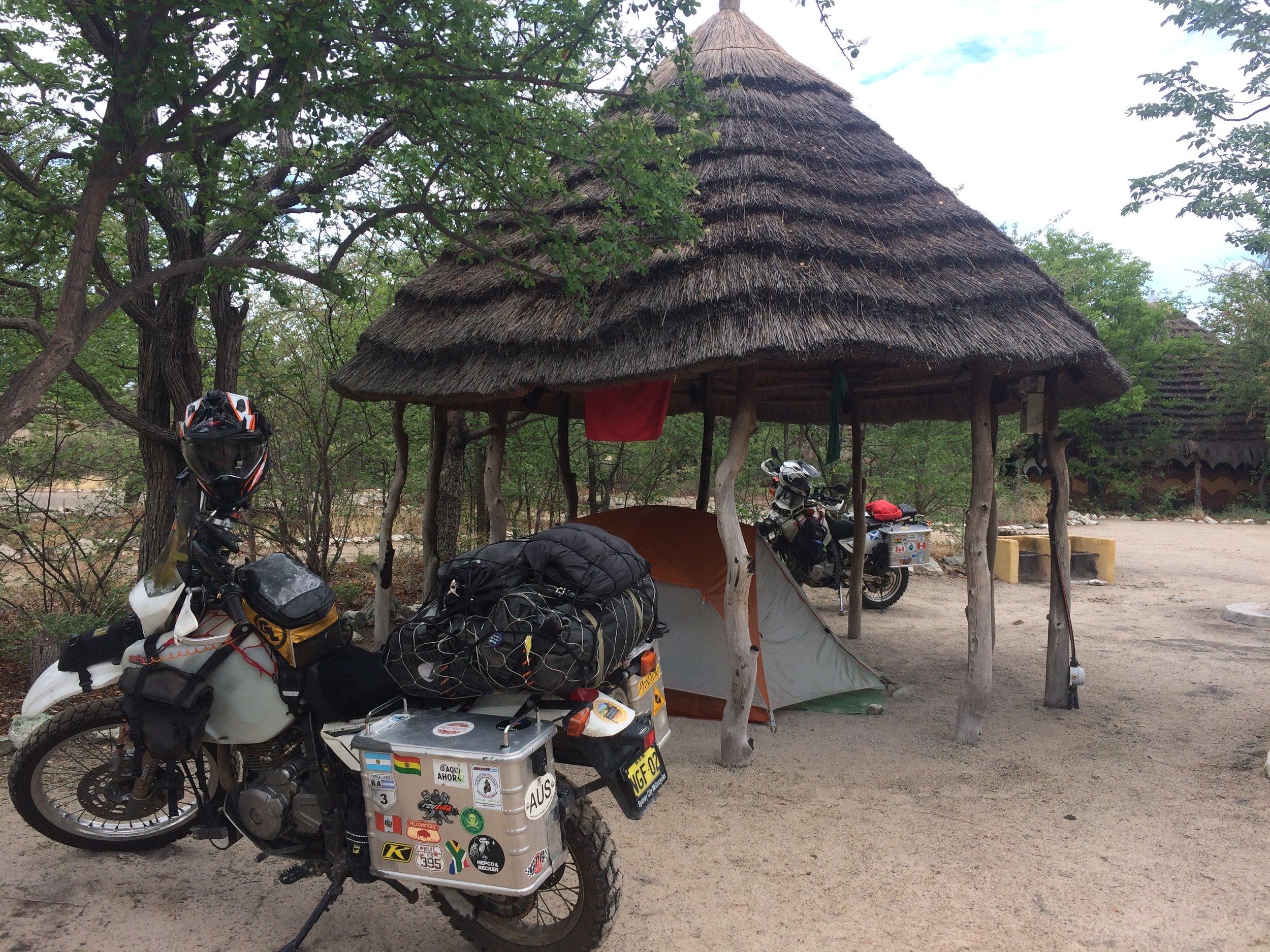 Camping at Plant Baobab