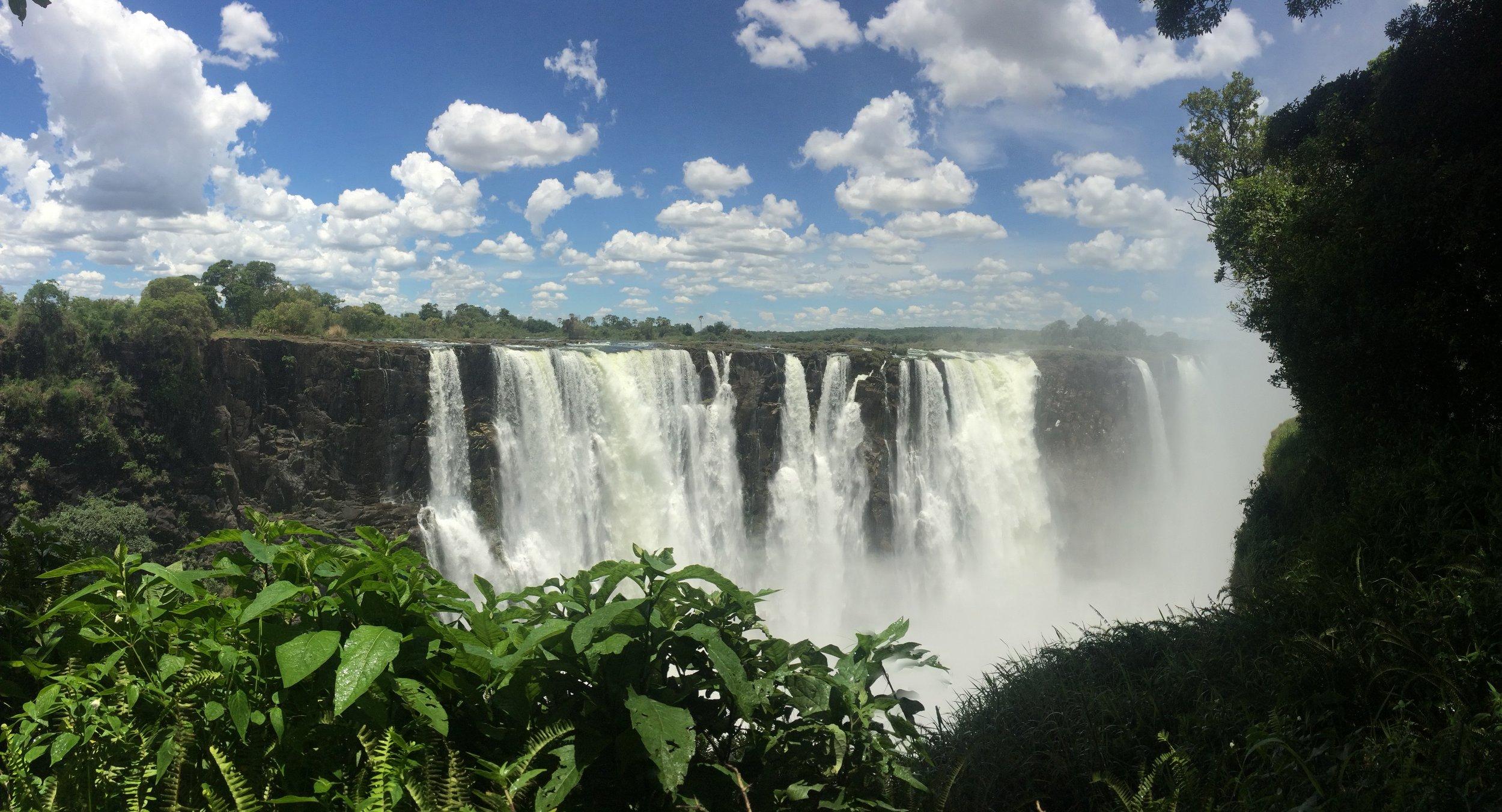 Victoria Falls - main falls