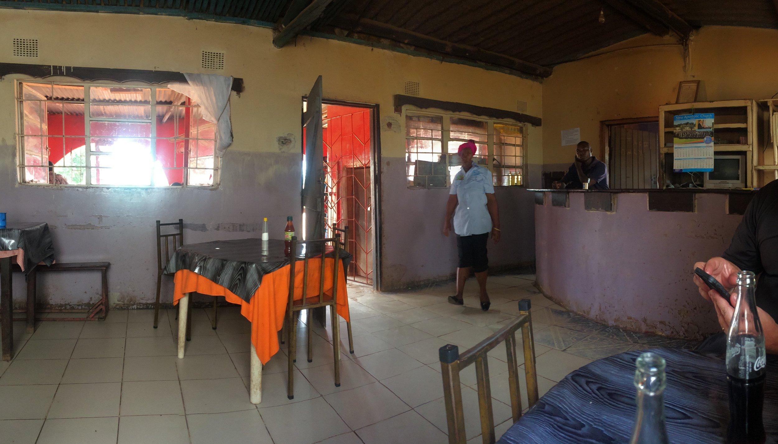 Roadside cafe for 50c lunch.