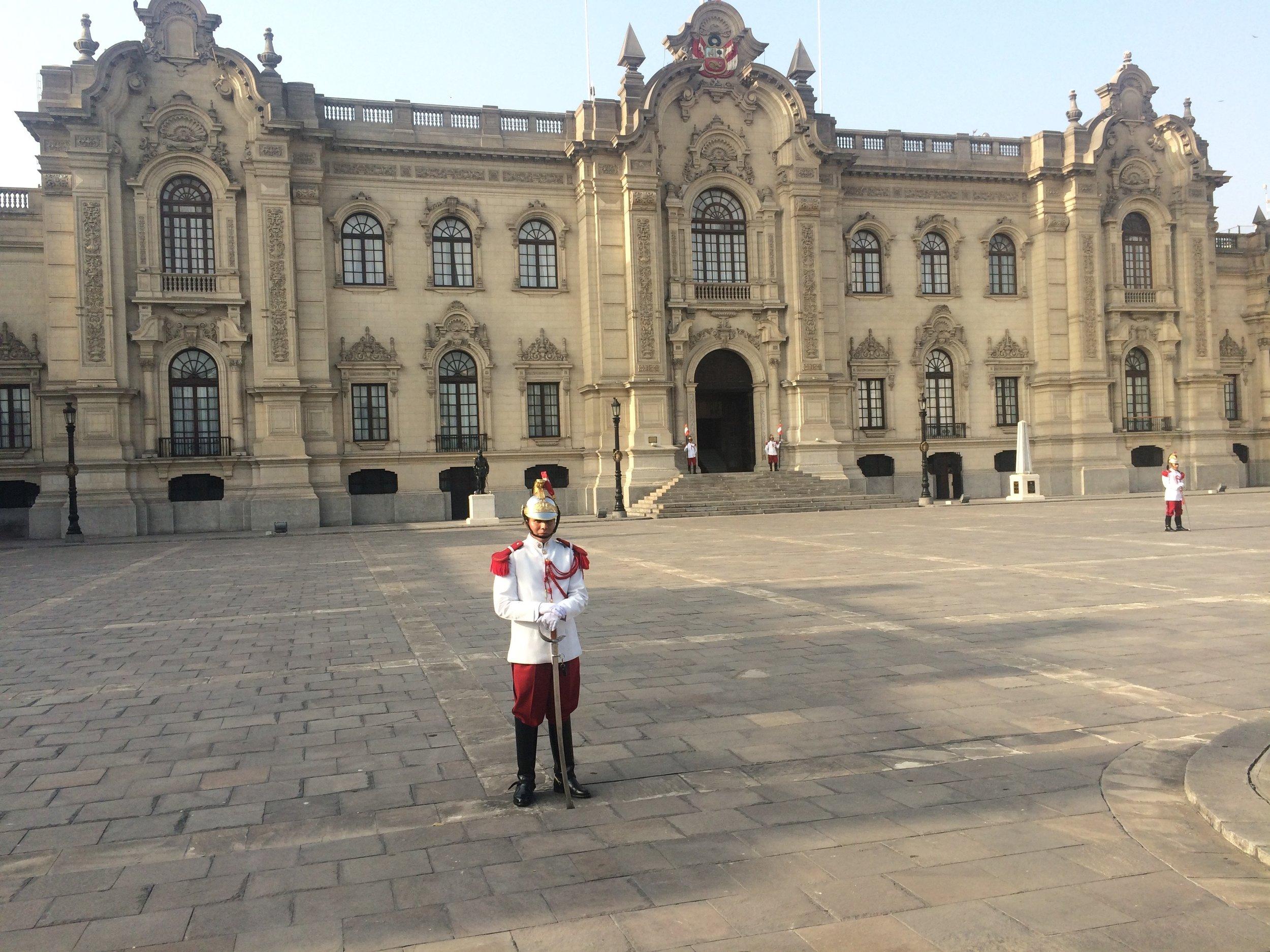 Precedential Palace in Plaza de Aramas.