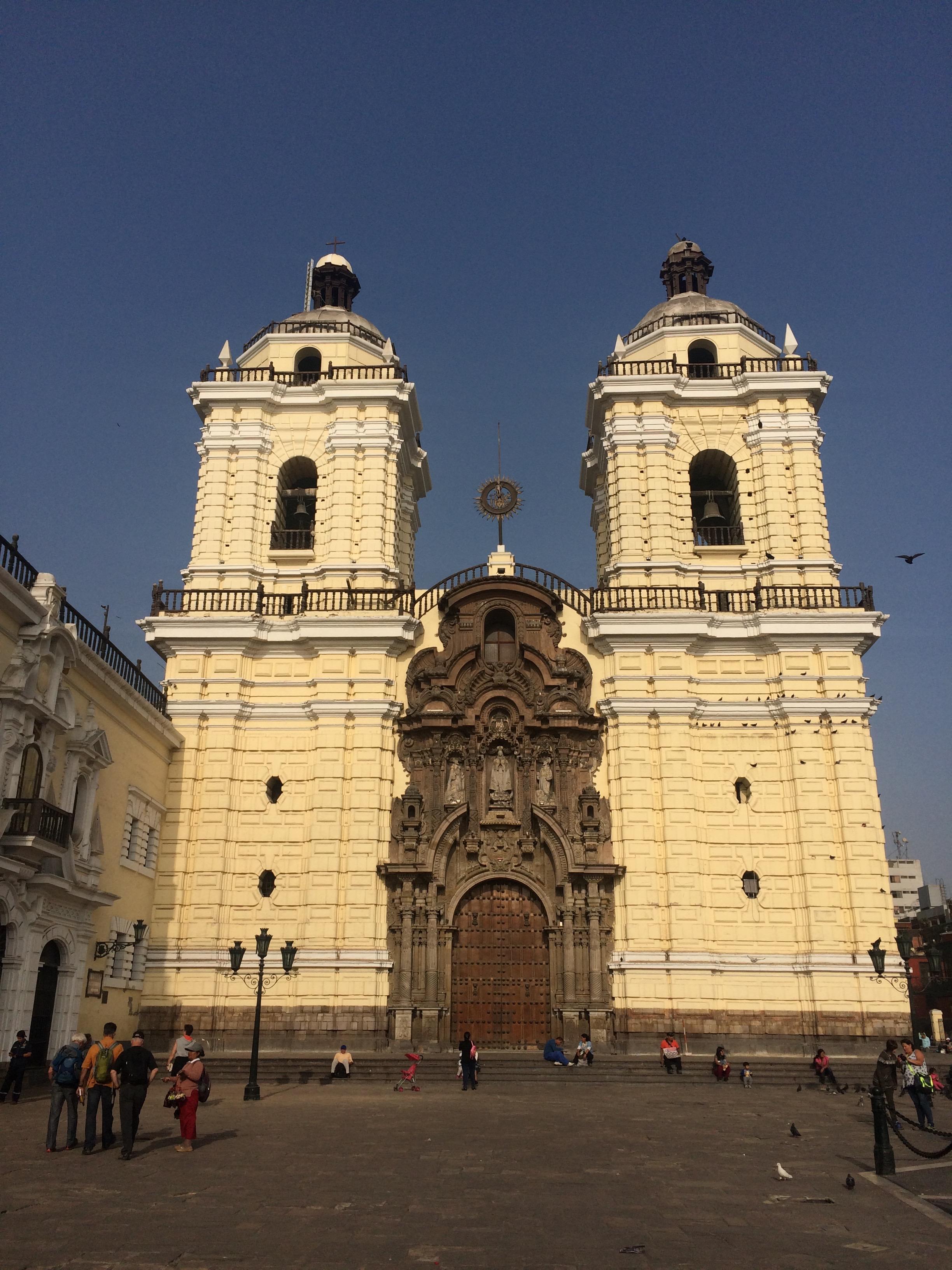 Basílica de San Francisco. It's a beautiful building, inside and out.