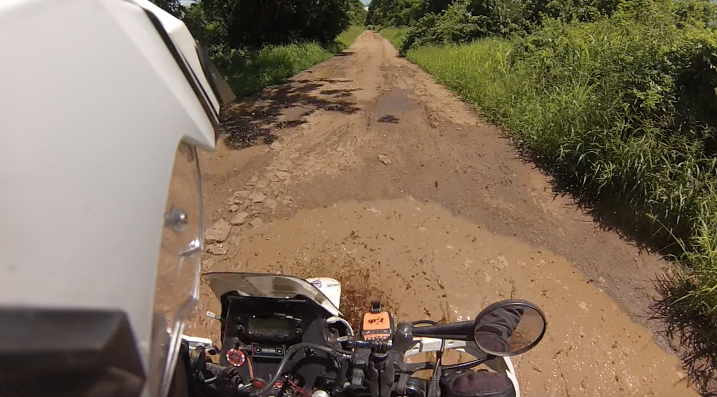 Into the mud we go