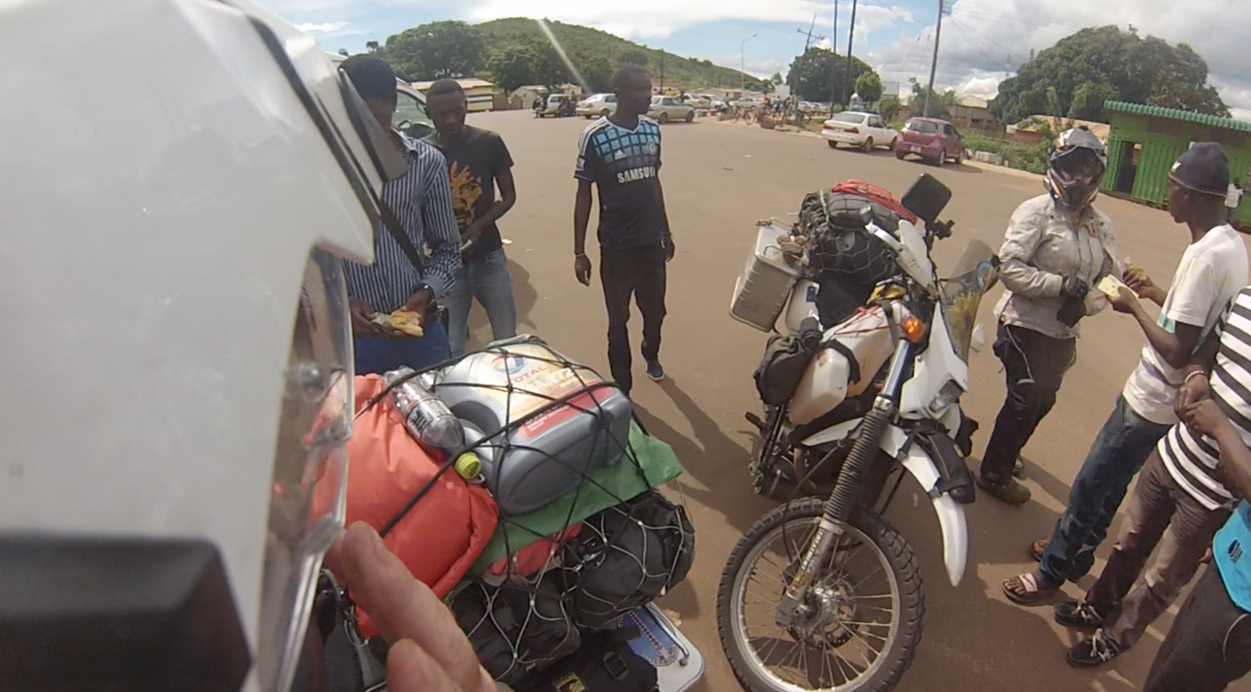 Surrounded, at the Malawi border!