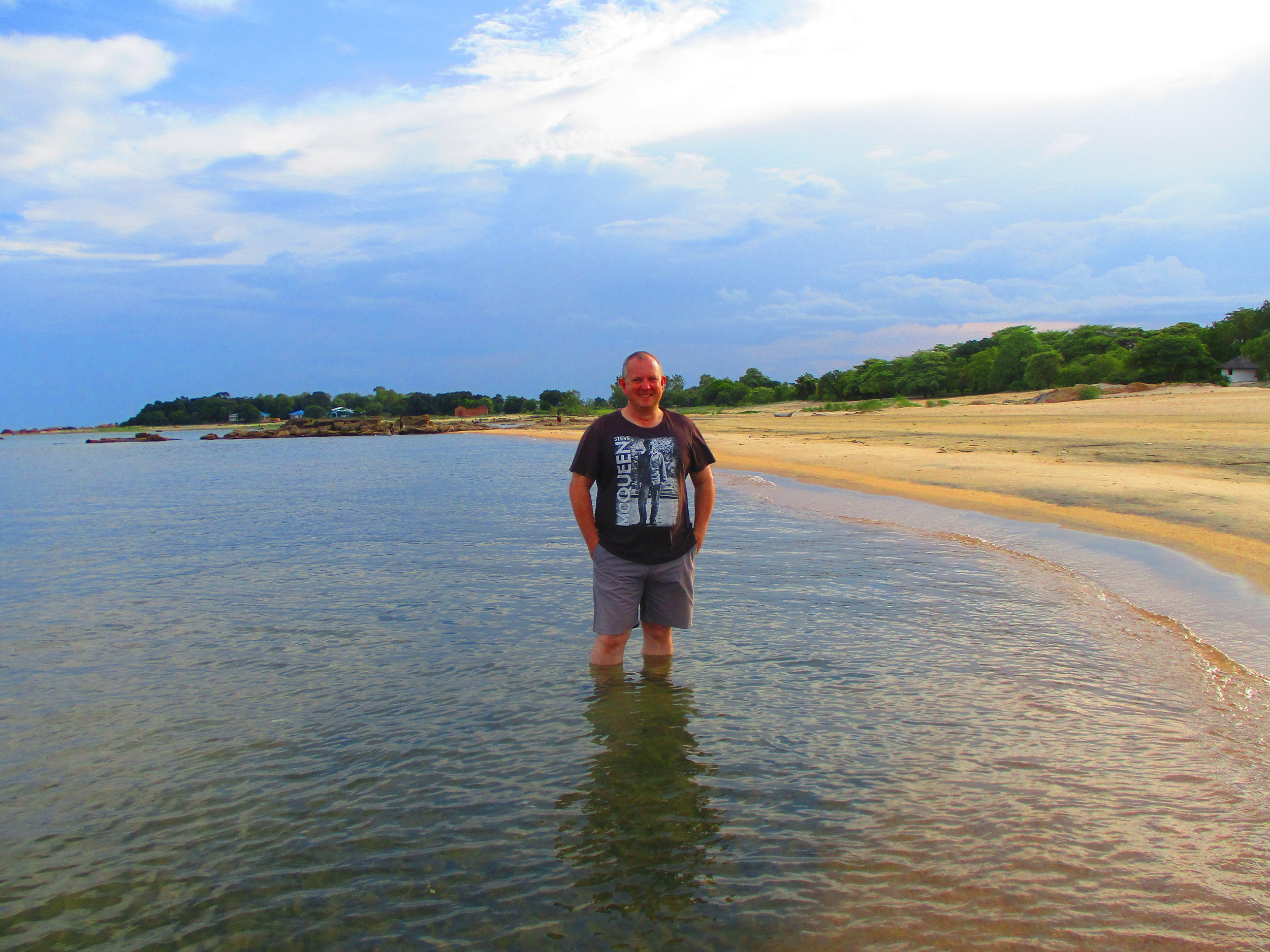 Lake Malawi, lovely although there are brain eating parasites in the water