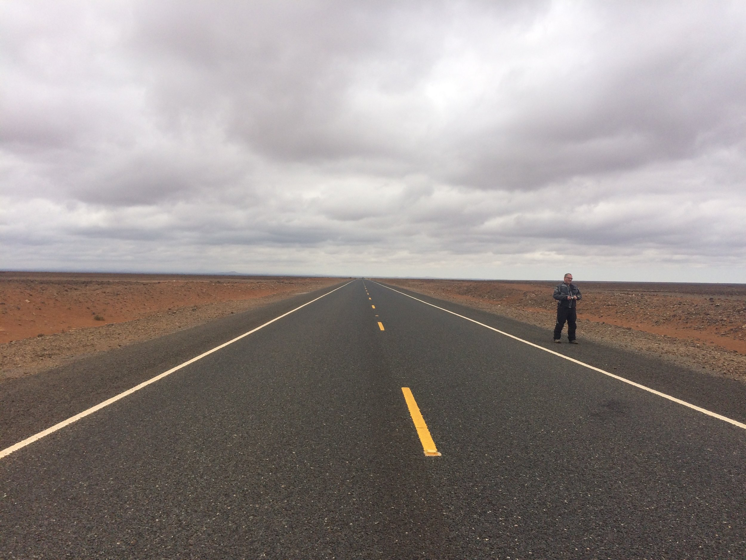 And now ... the beautiful Chinese tarmac Trans-African road
