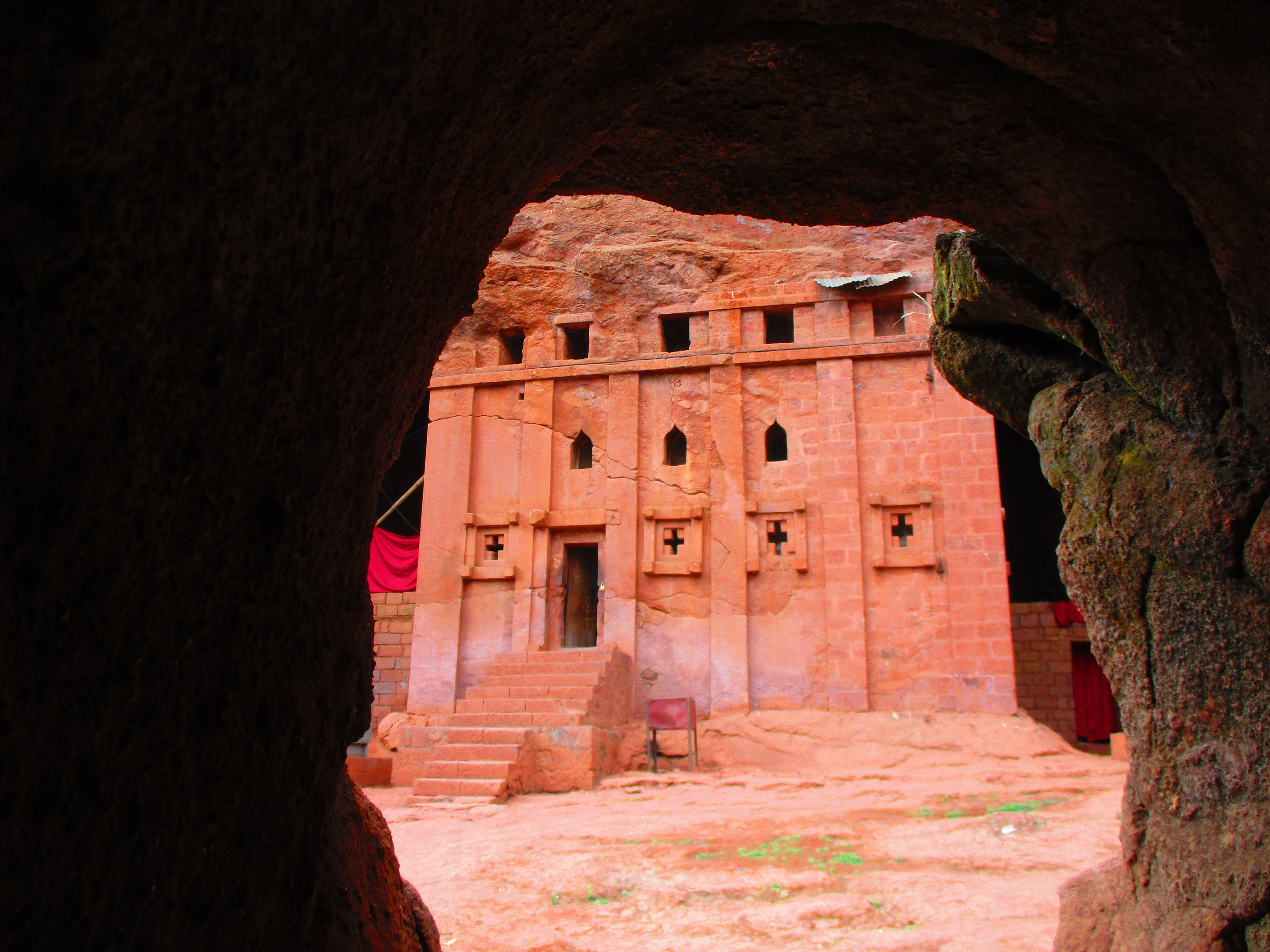 Bete Abba Libanos - a gift for the wife of King Lalibela