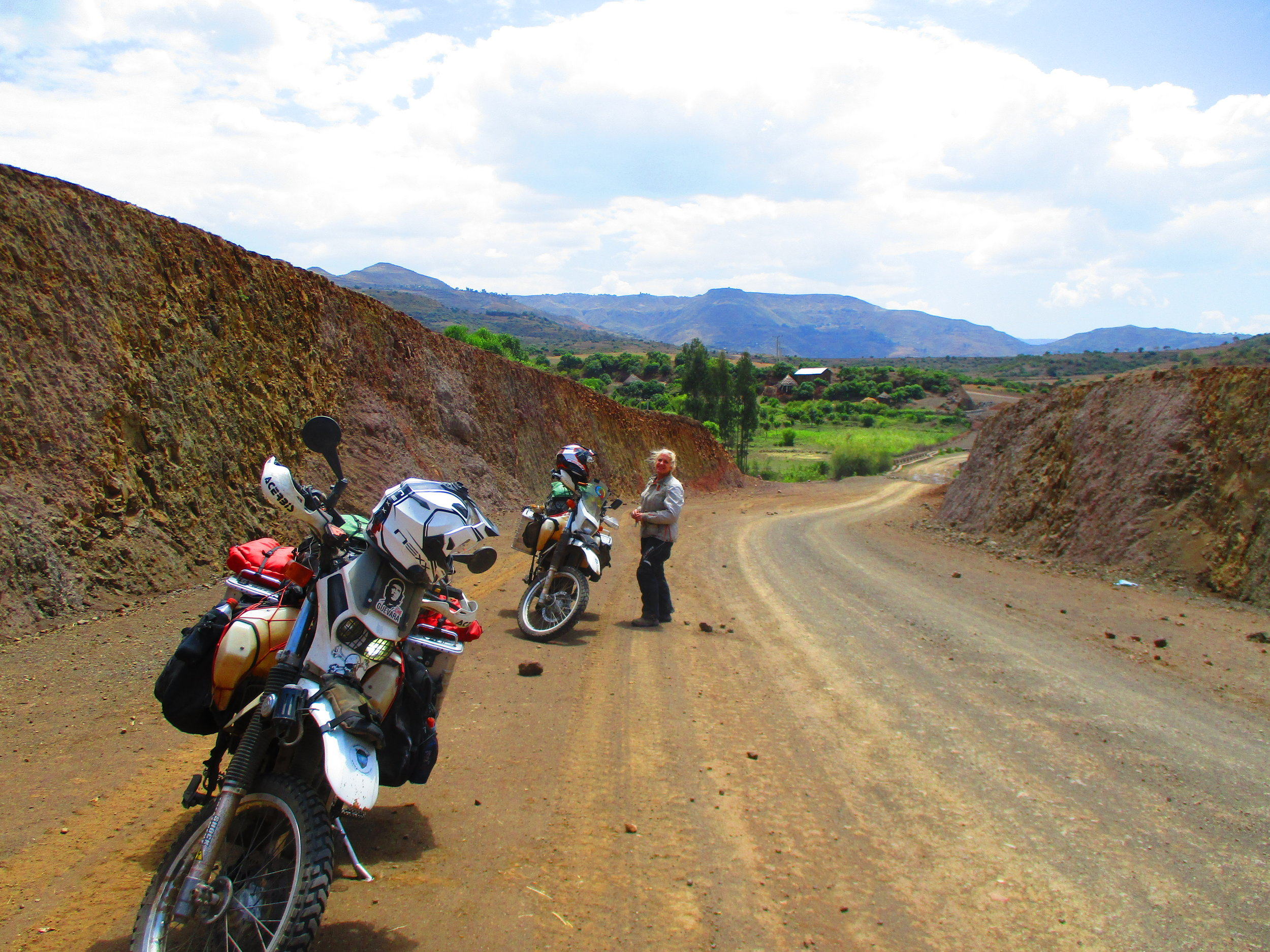 A good section of the Lalibela Road
