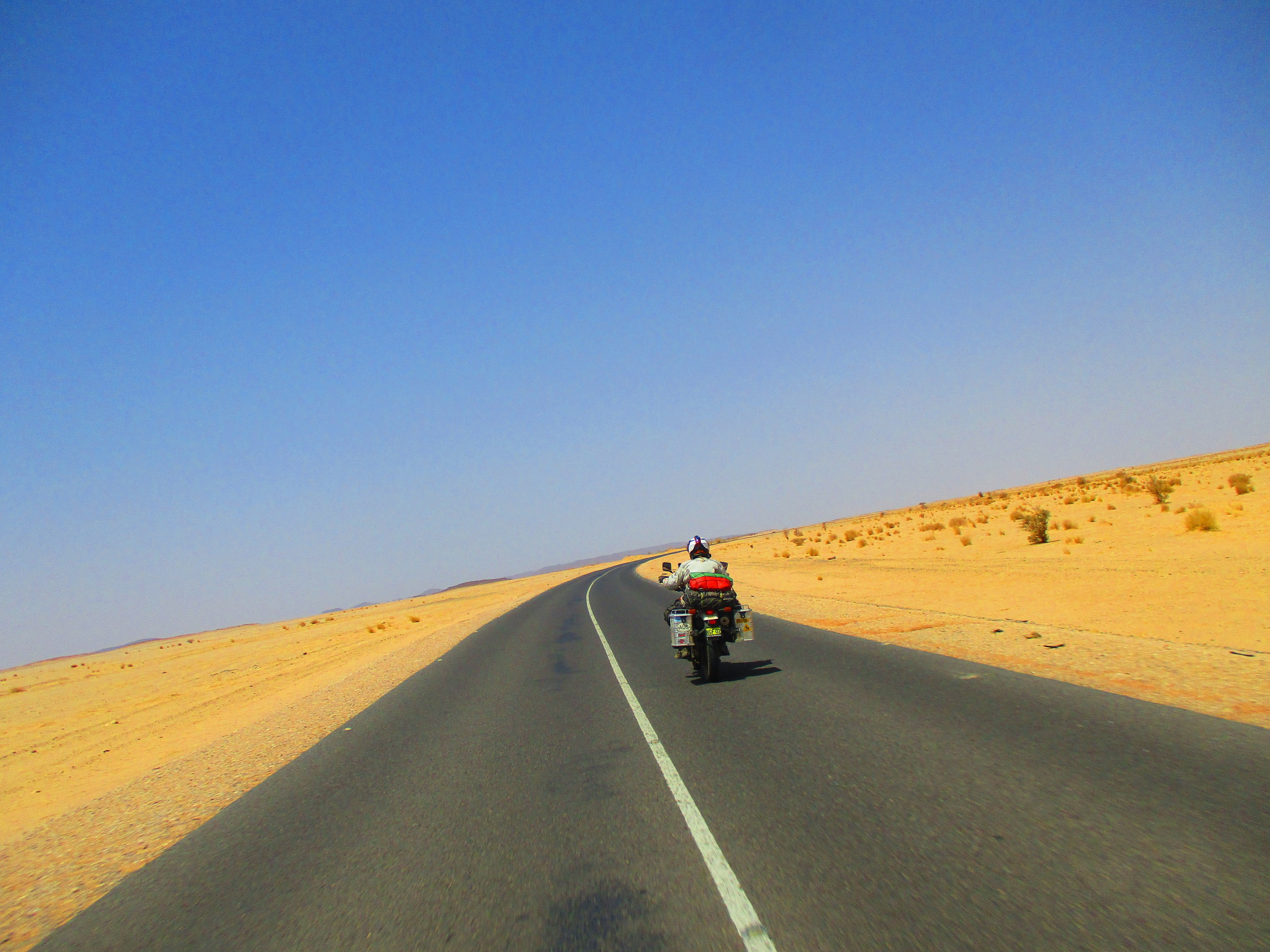 Desert Road from Karima to Dongola