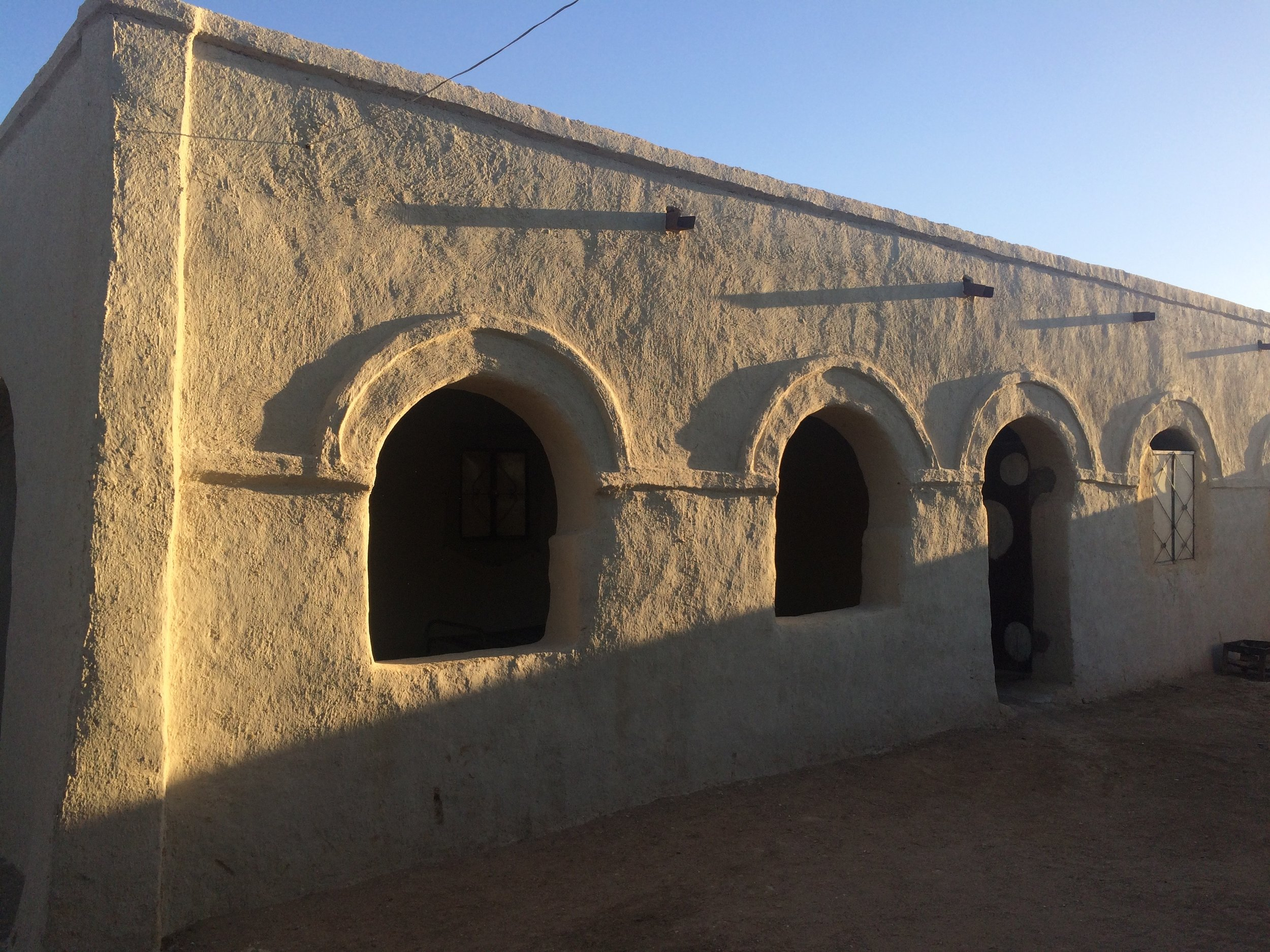 Soleb Guesthouse courtyard - looks nice doesn't it?