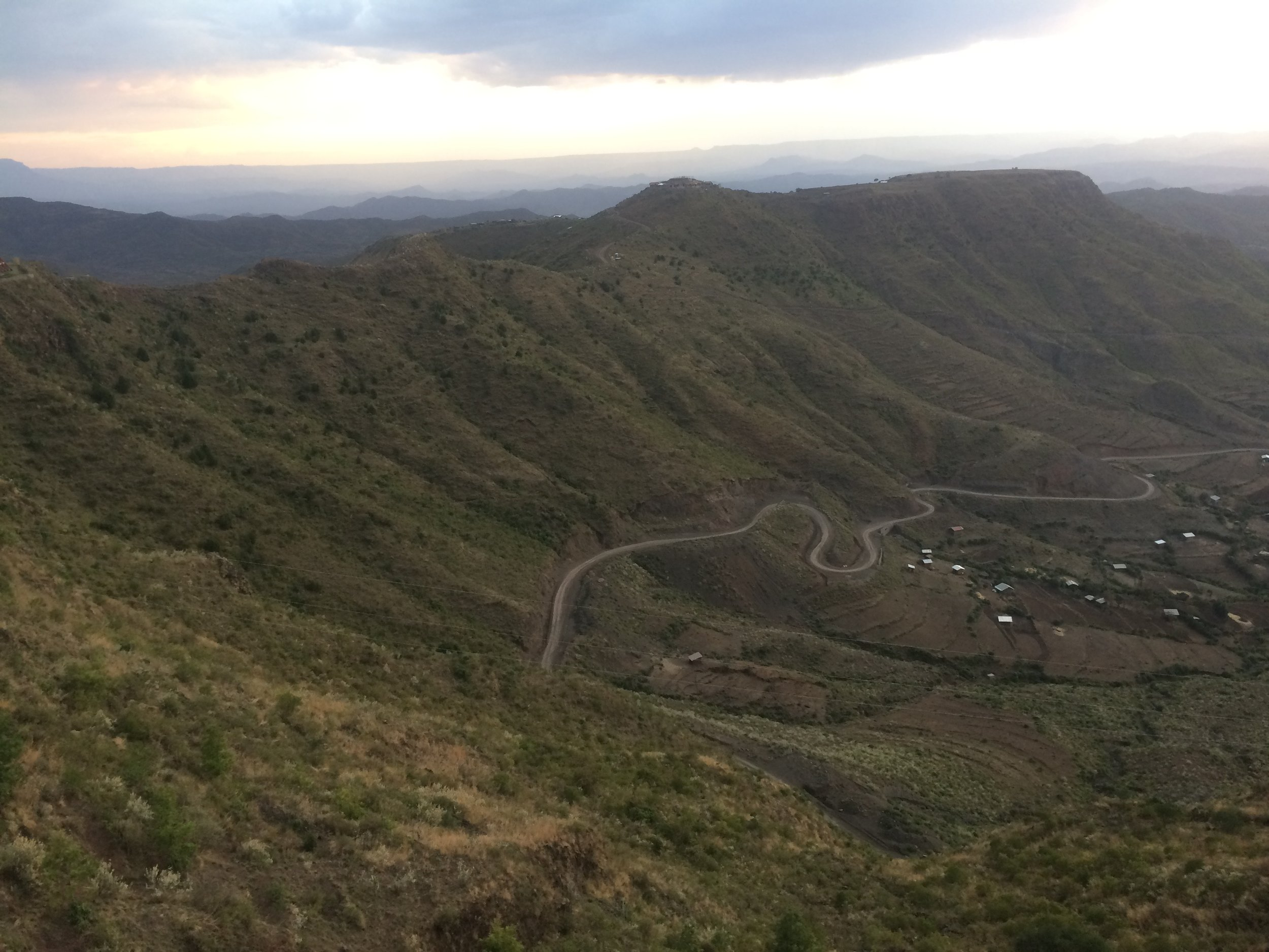 View from Lalibela