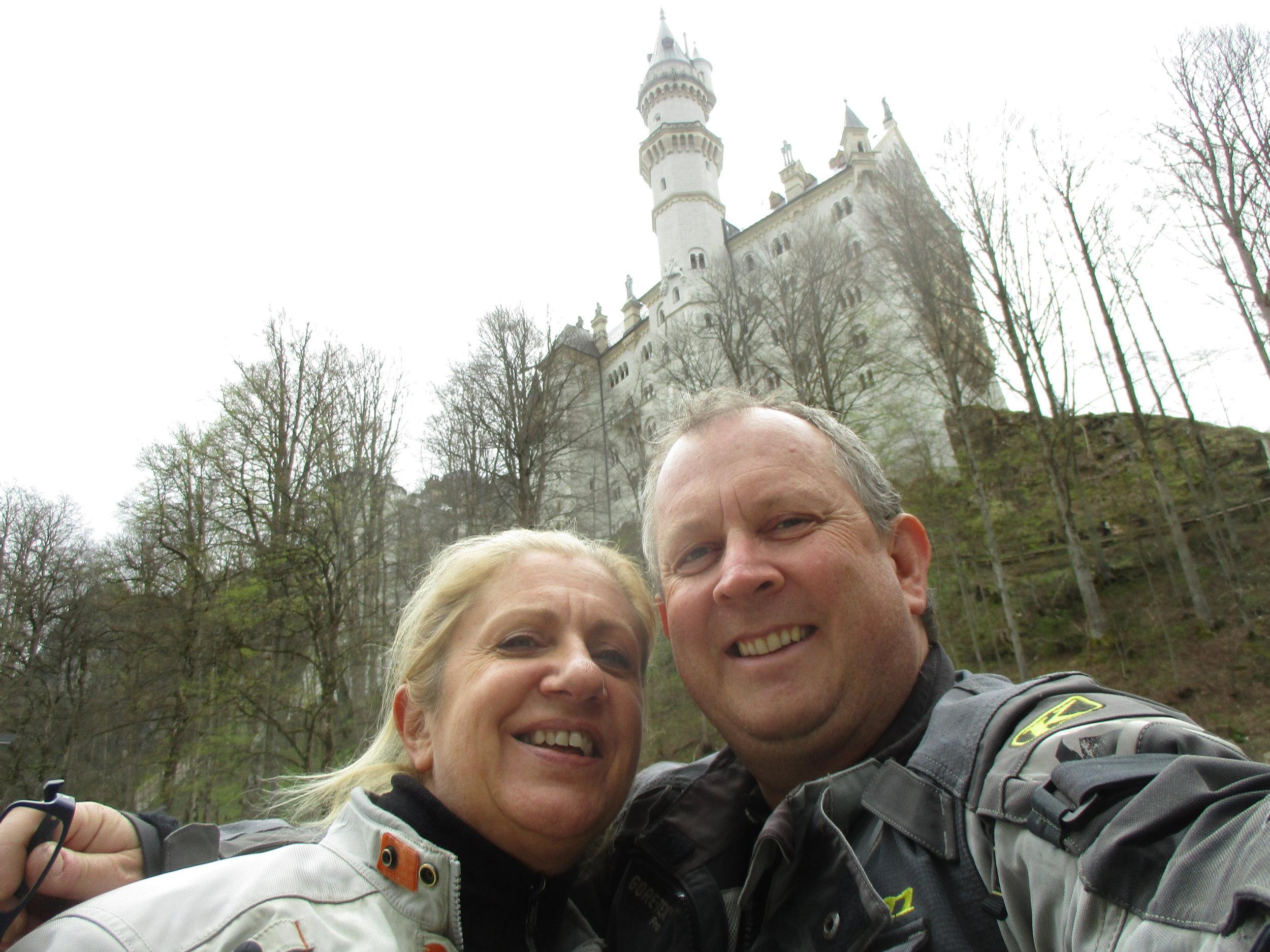 A selfie with Neuschwanstein