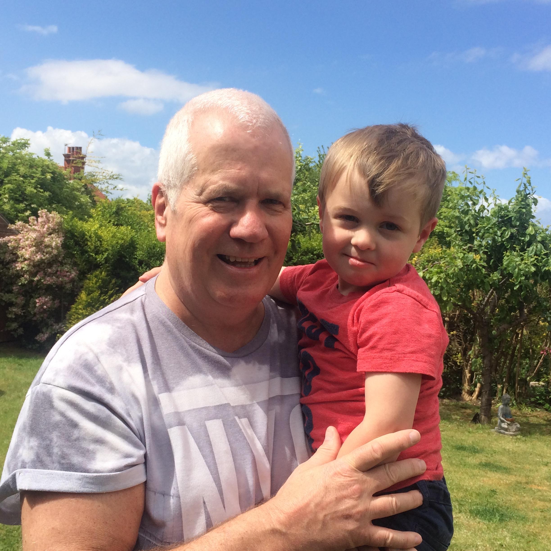 Brother John and grandson Freddie