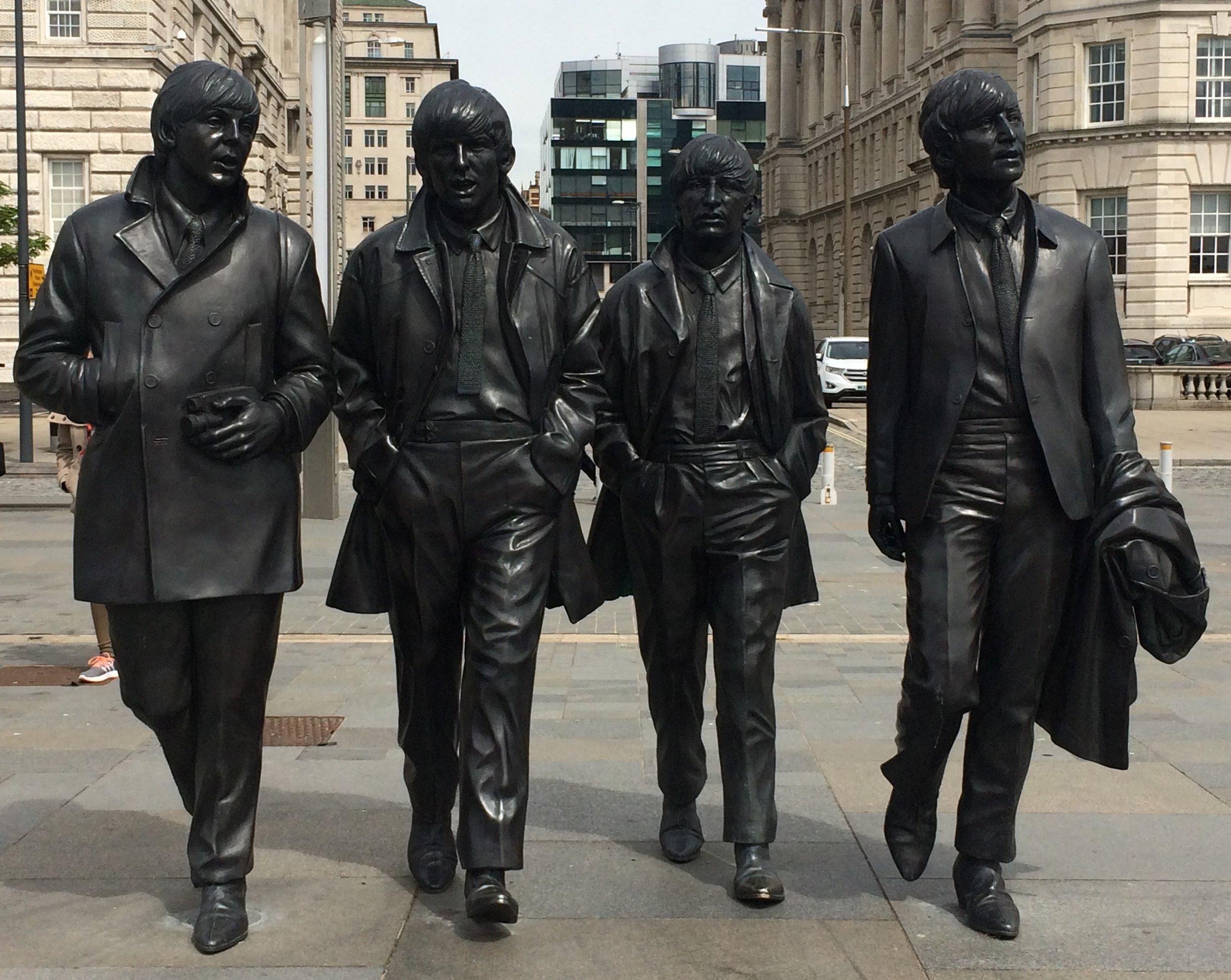 The Beatles at Albert Dock