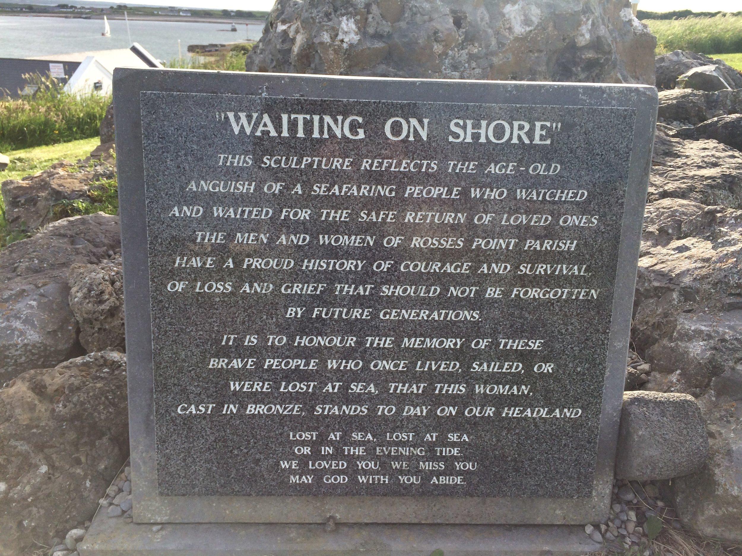 Waiting on Shore.