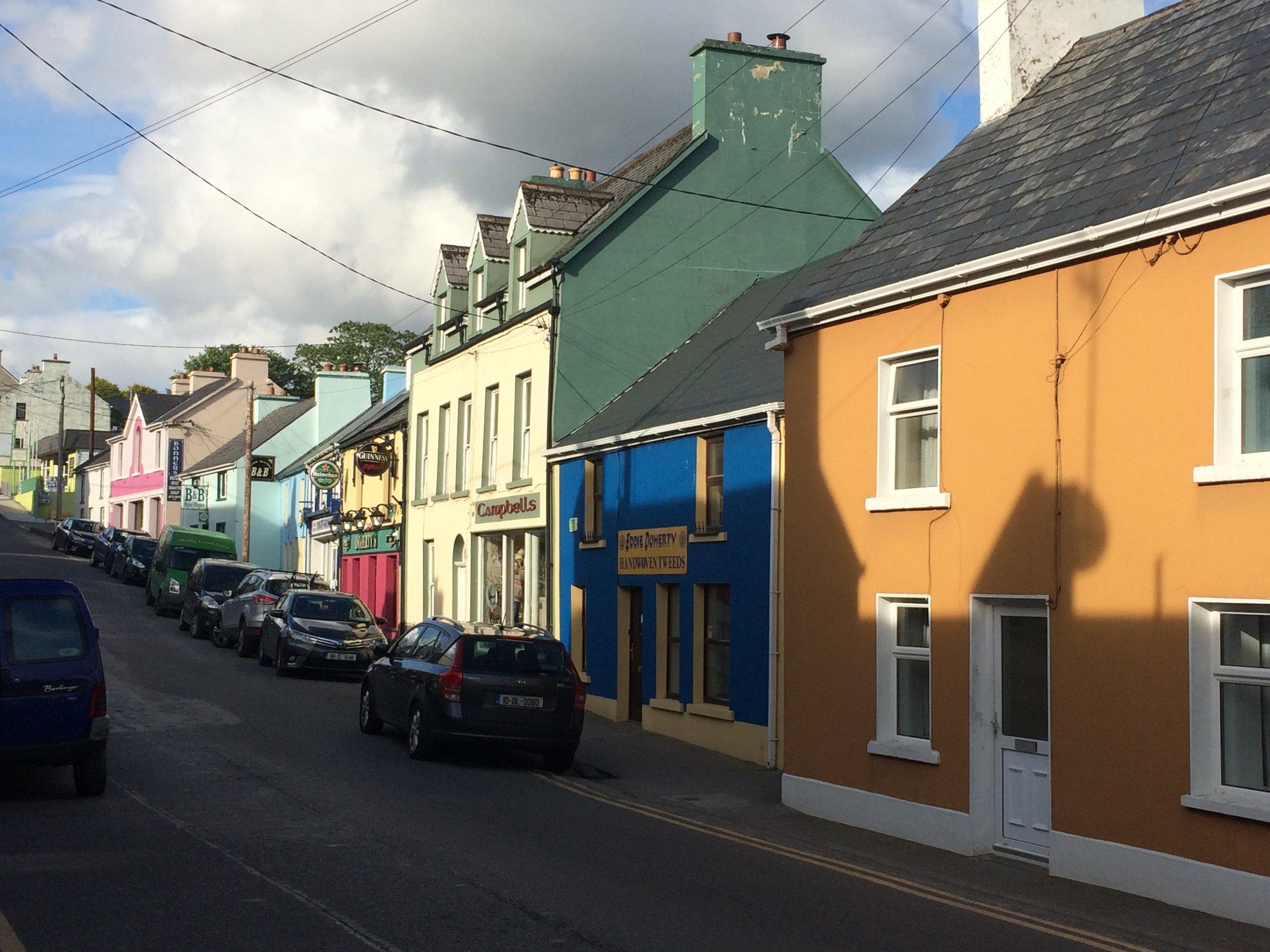Ardara village street