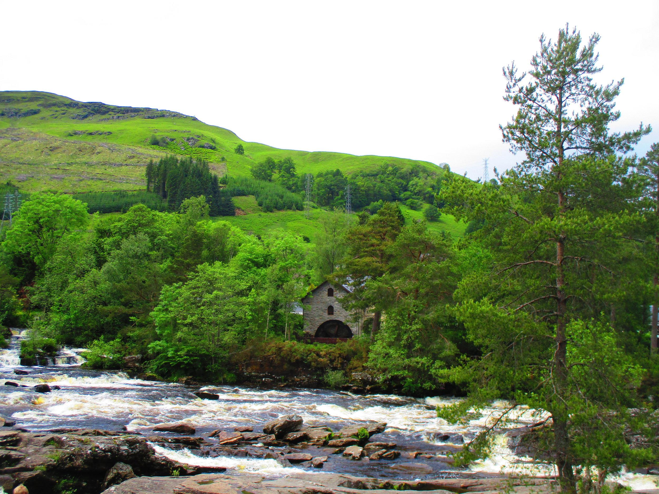 Scotland green