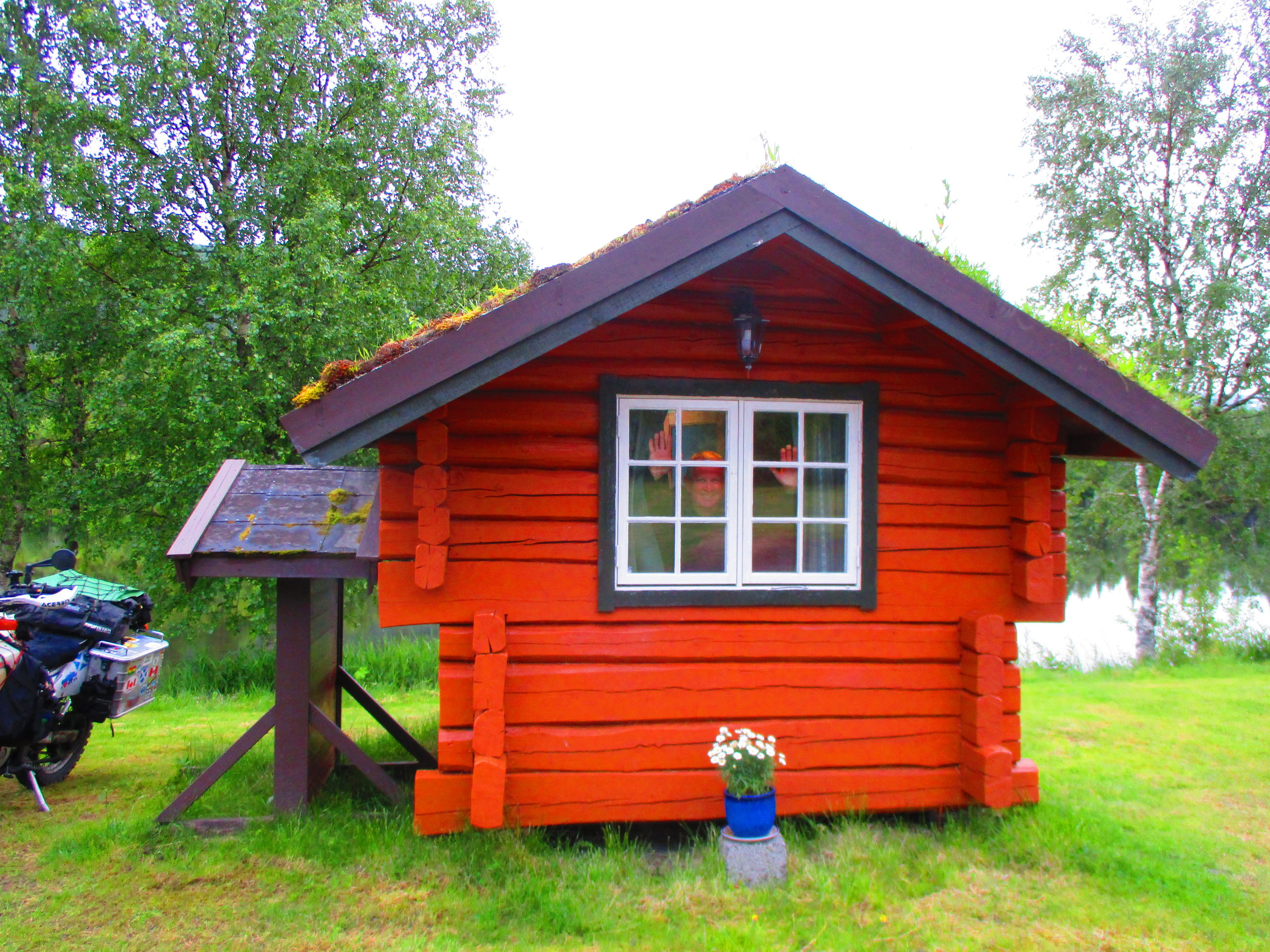 The smallest cabin in the world - probably.