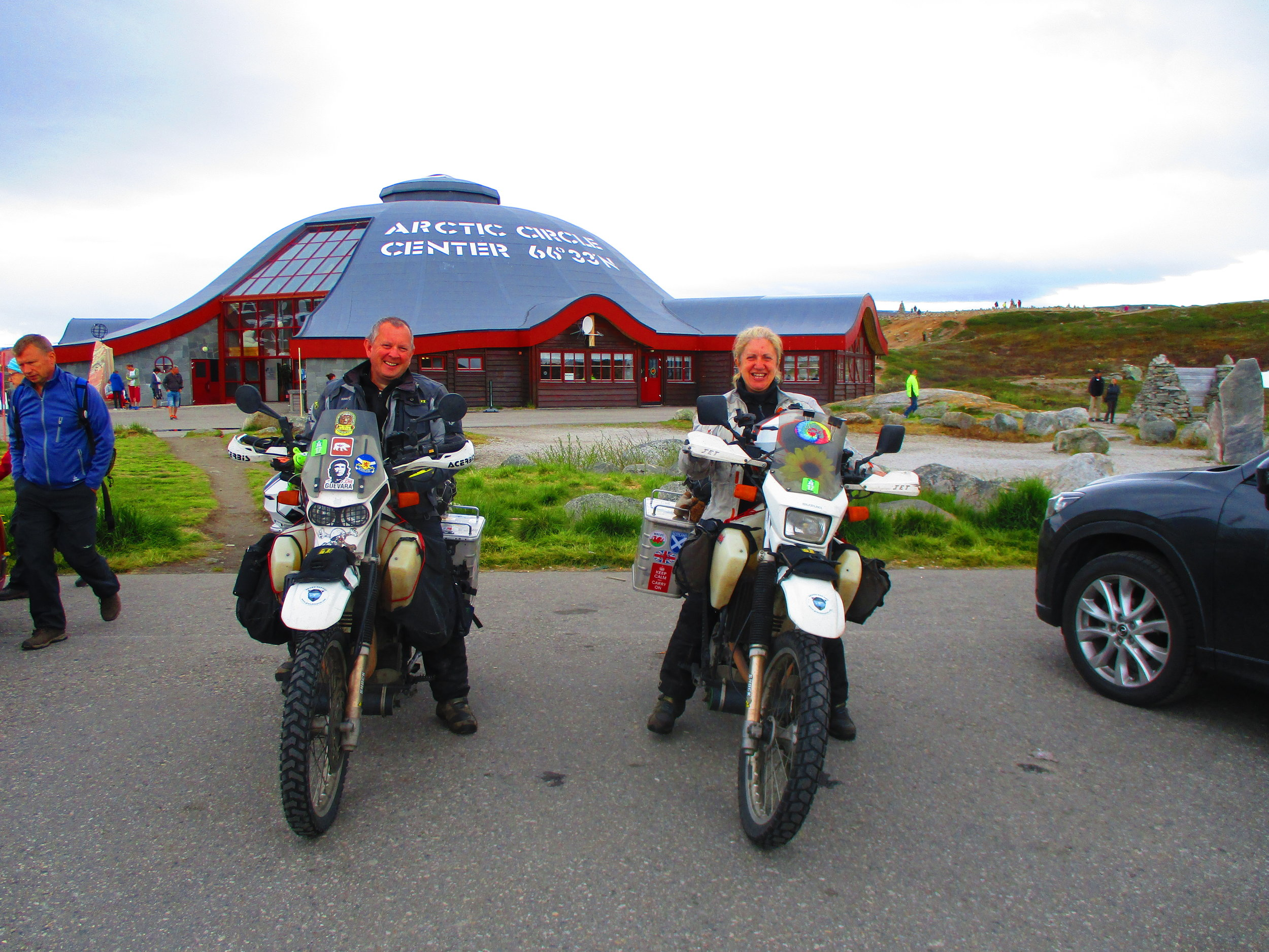 Arctic Circle line in Norway