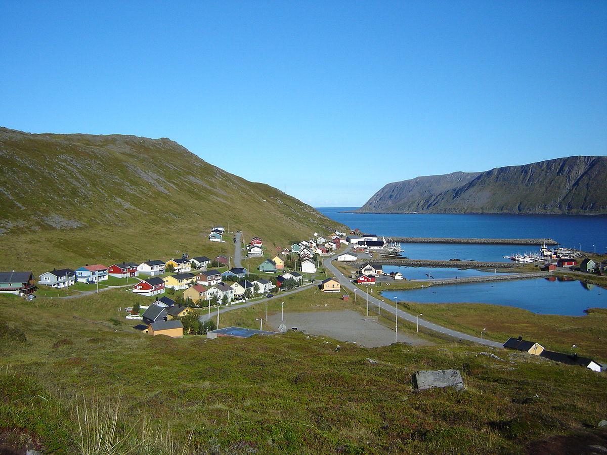 Skarsvåg - northern most fishing village in the world.