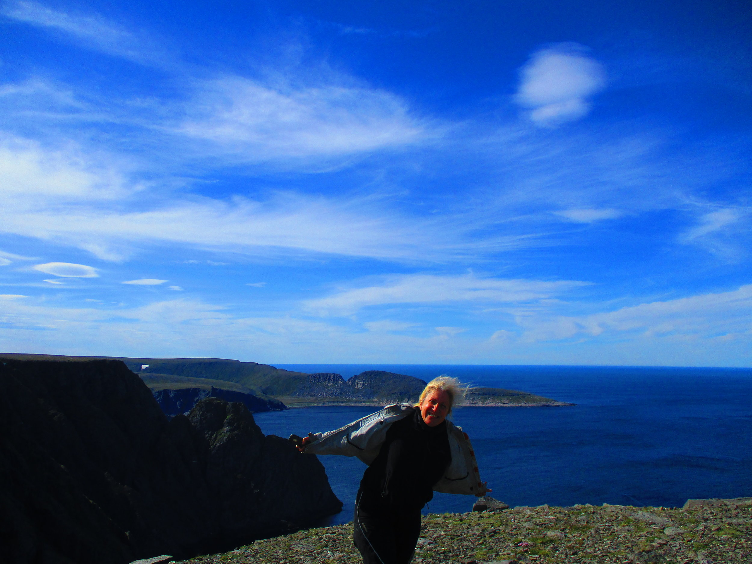 Nordkapp - northern most point in Europe.