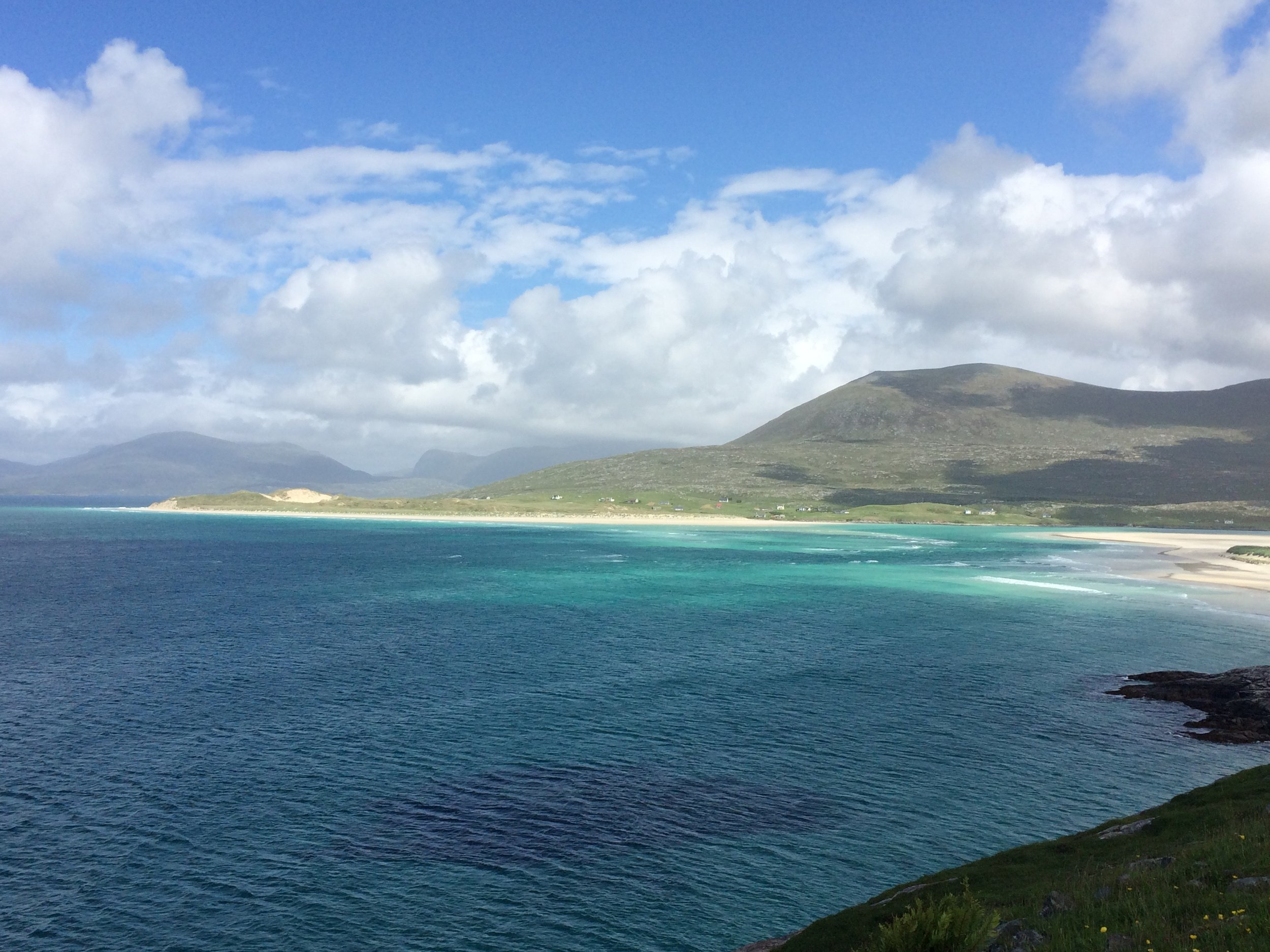 Isle of Harris, Outer Hebrides - tropical island of Scotland!