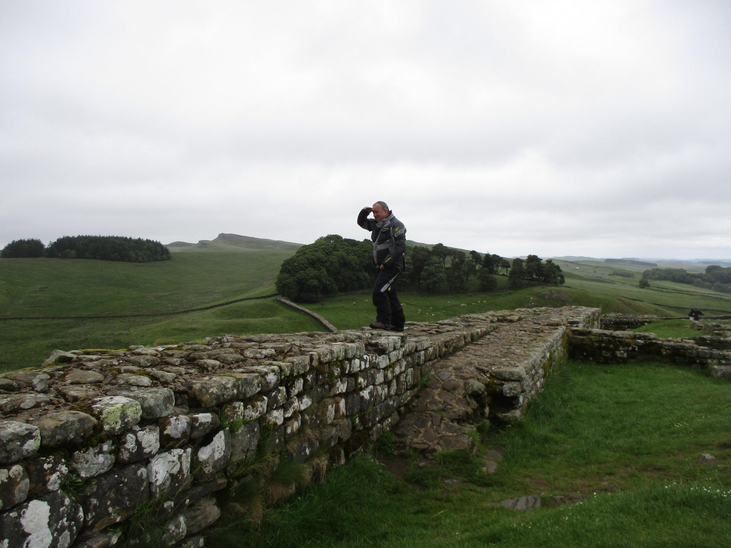 Hadrian's Wall near Bardon Mill
