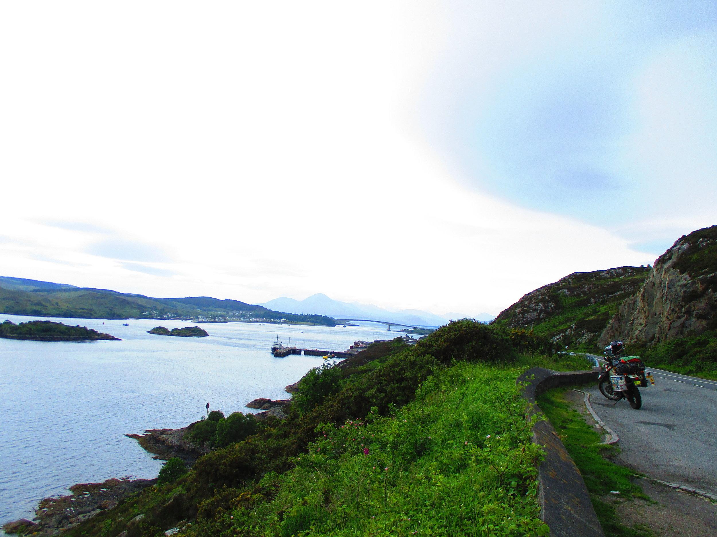 The bridge to the Isle of Skye