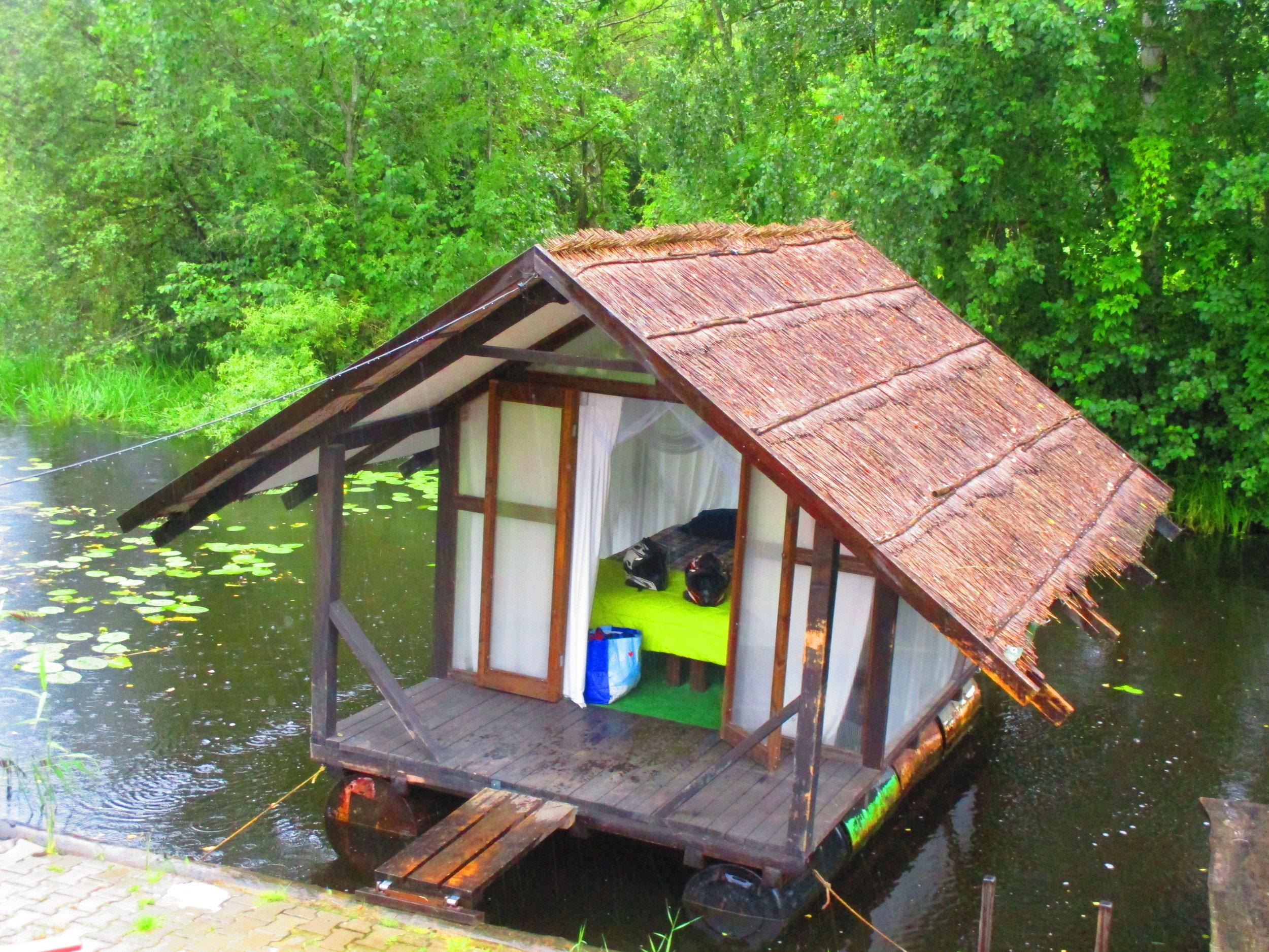 Mosquito camp, Riga, Latvia