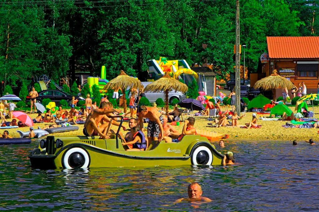 Campsite at Przysucha, Poland