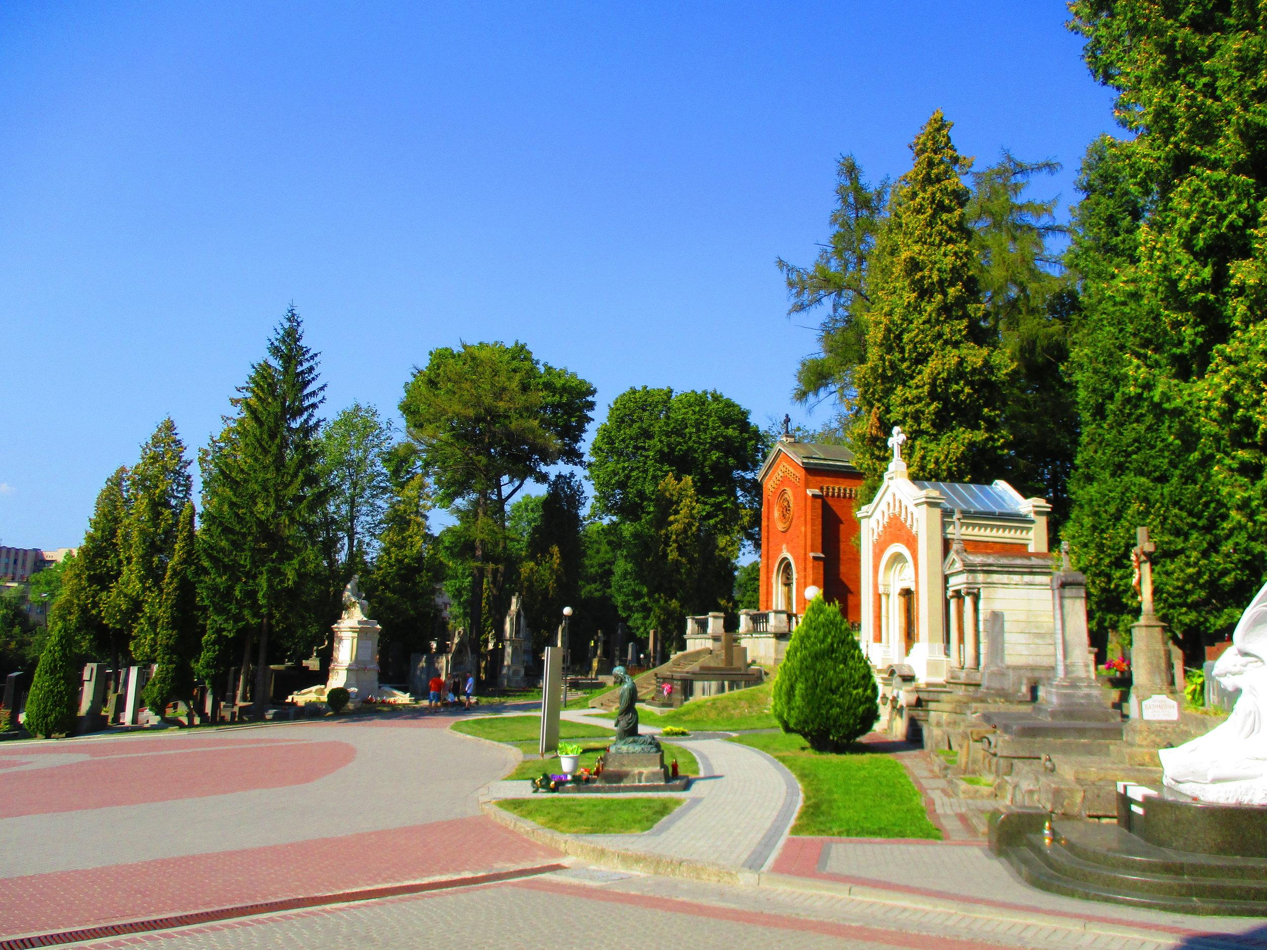The very beautiful Lychakiv cemetary, Lviv Ukraine